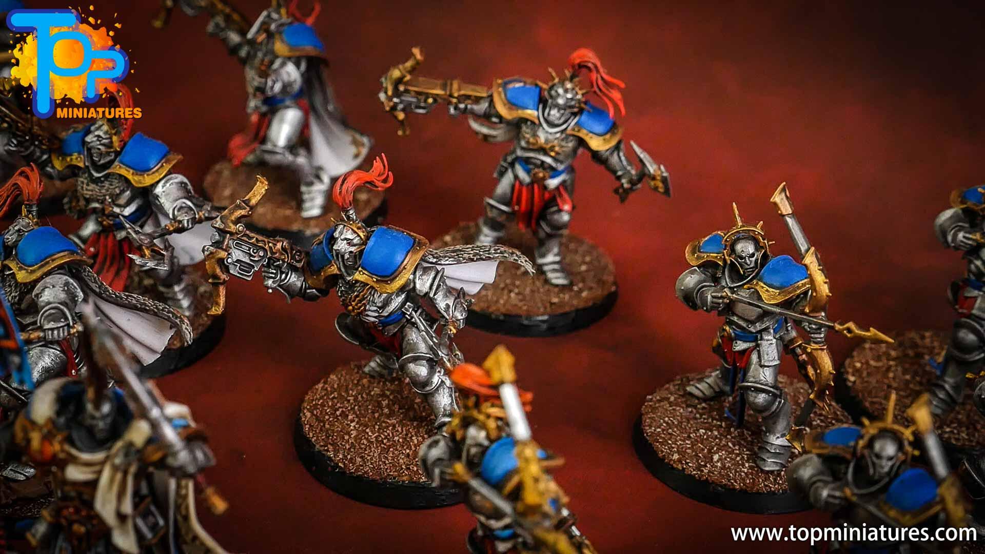 stormcast eternals painted judicators bow (4)