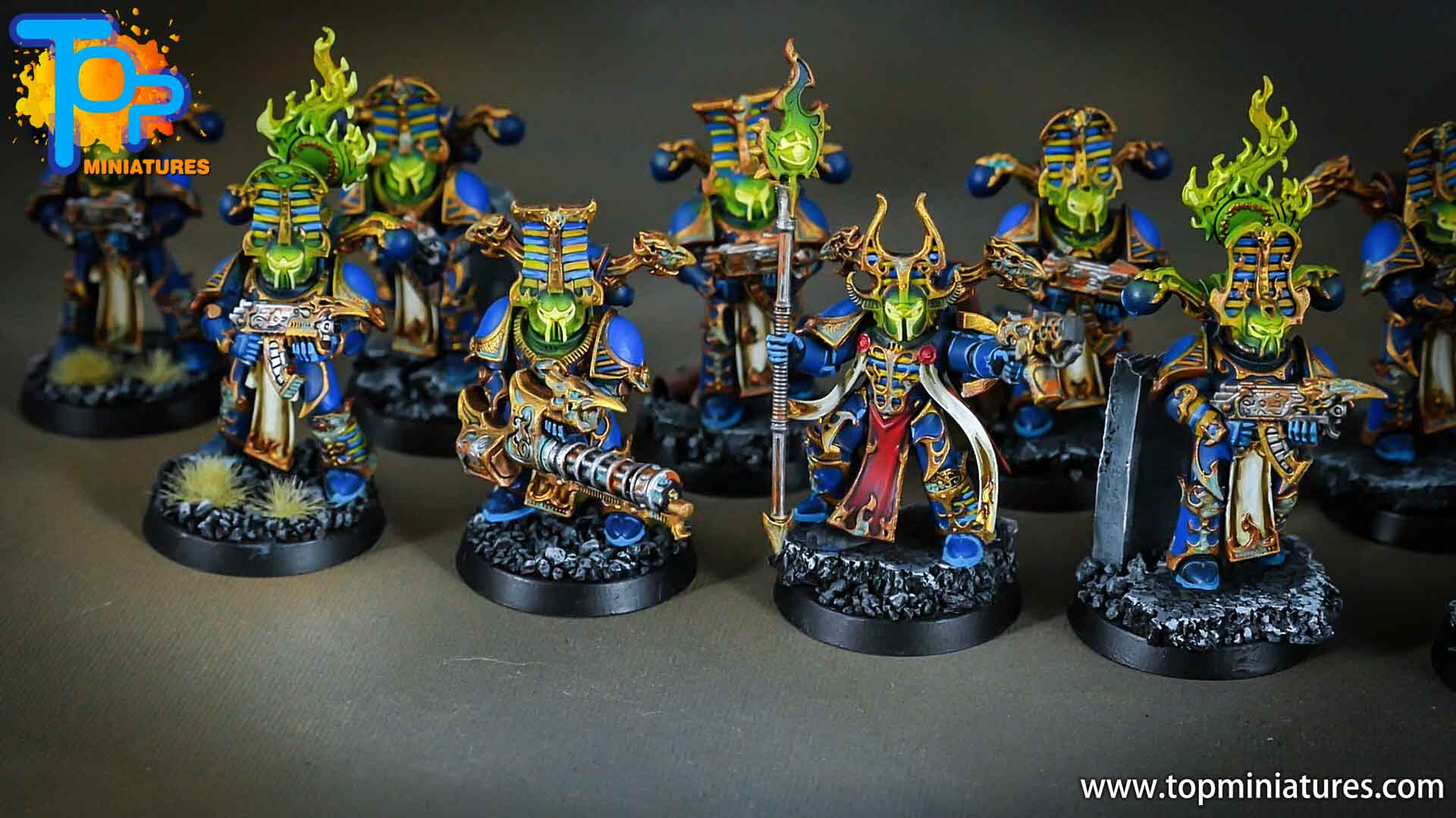 thousand sons rubric marines green glow (1)