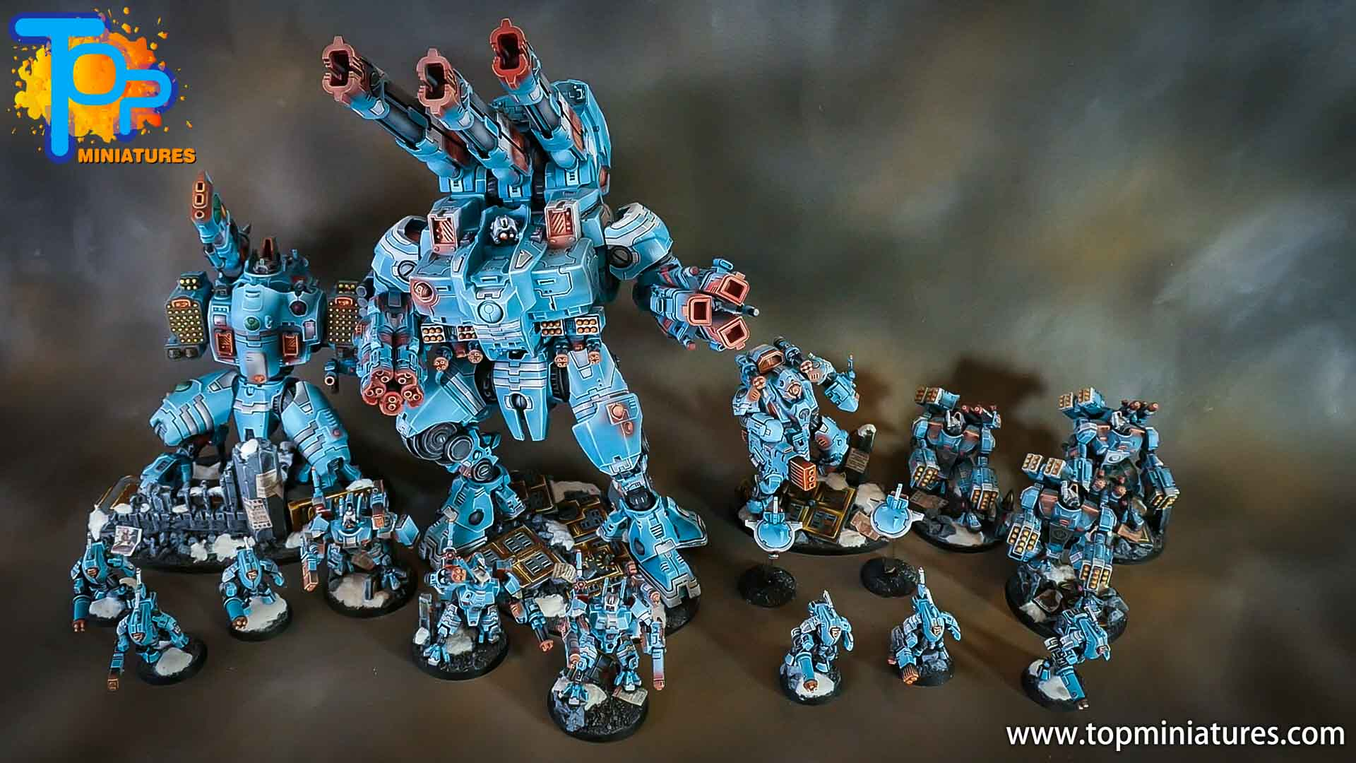 top miniatures tau empire army