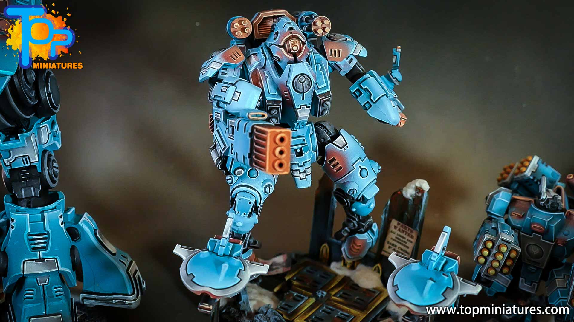 top miniatures tau empire ghostkeel (2)