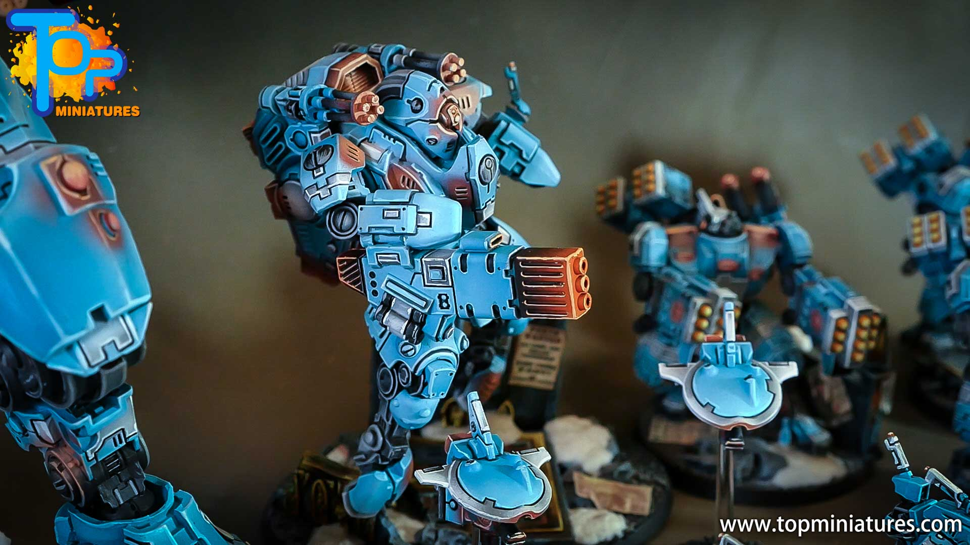 top miniatures tau empire ghostkeel