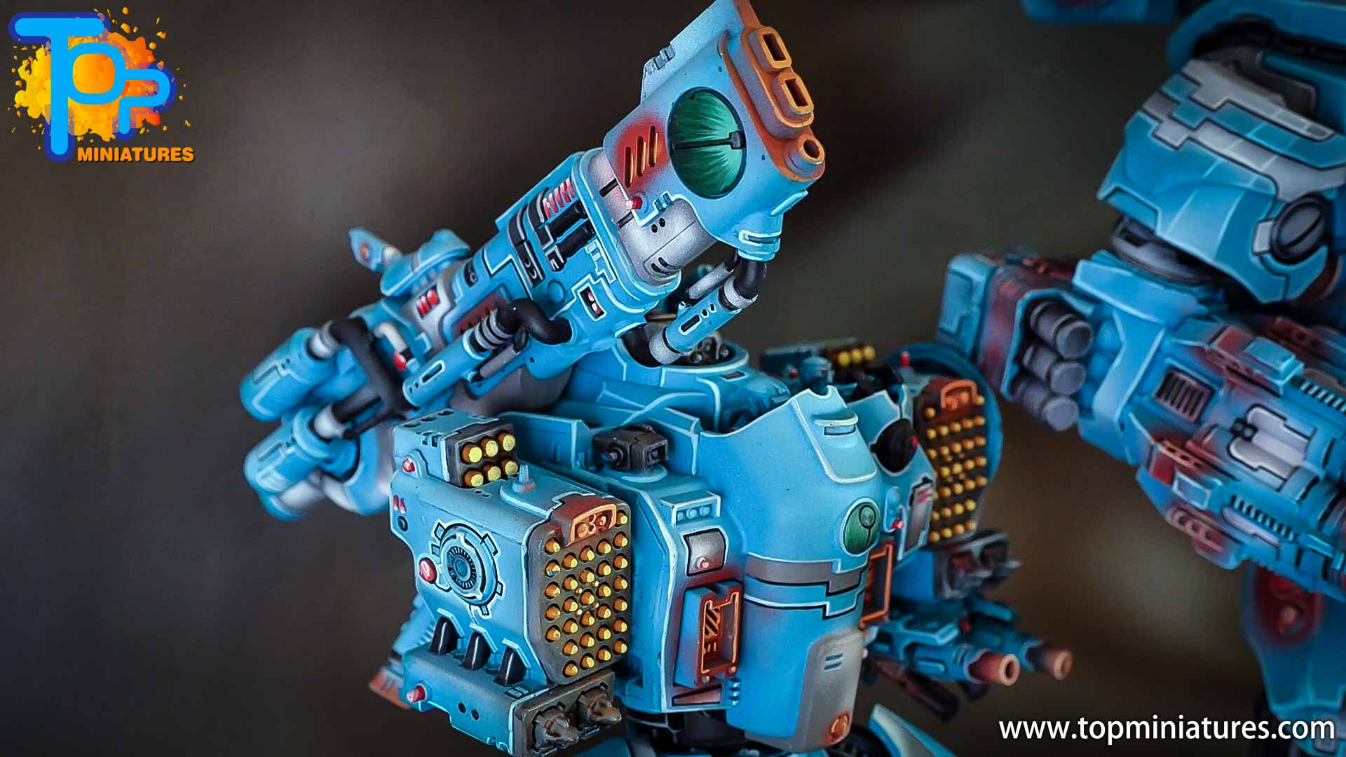 top miniatures tau empire stormsurge