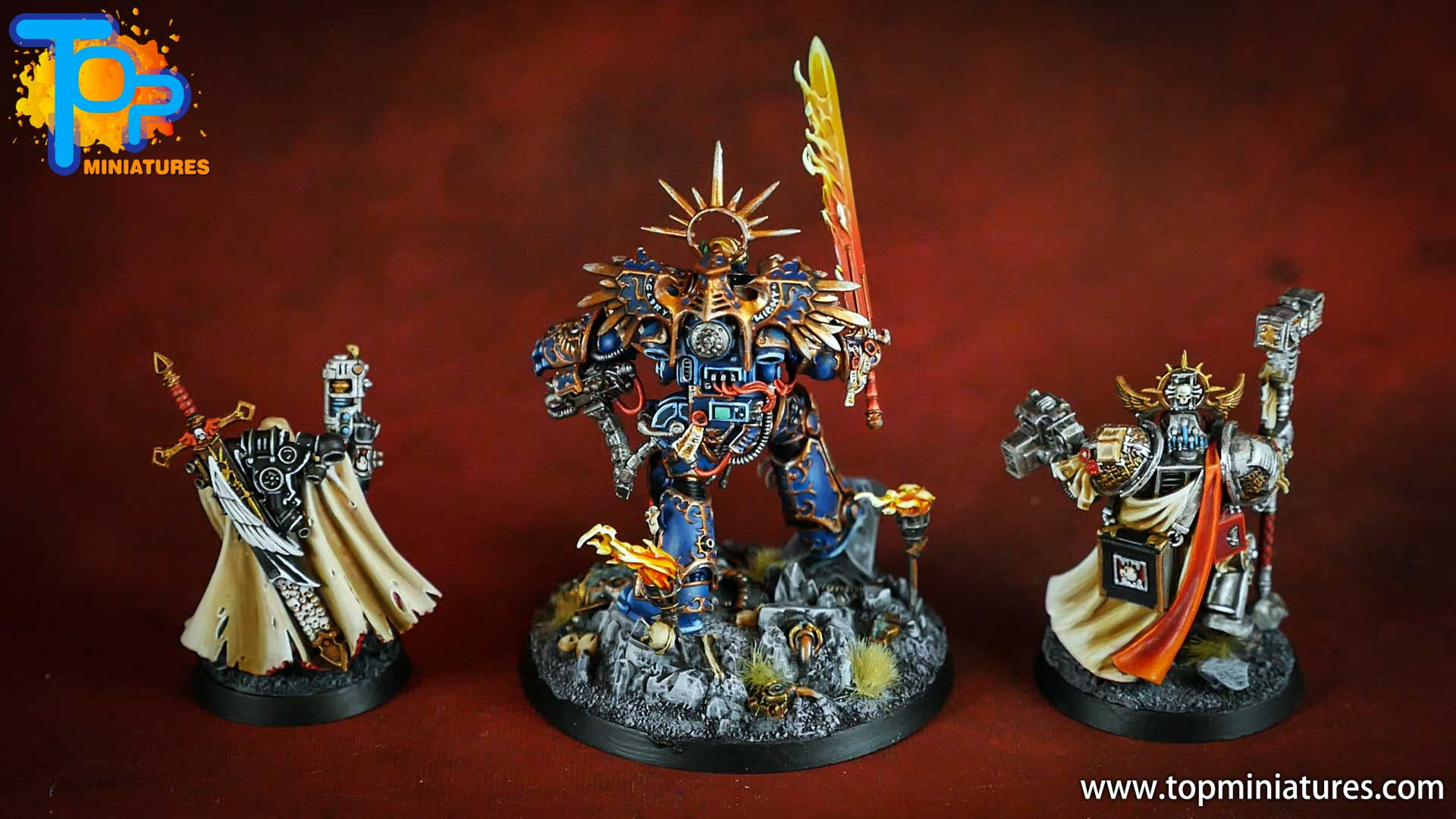 triumvirate of the primarch painted (4)