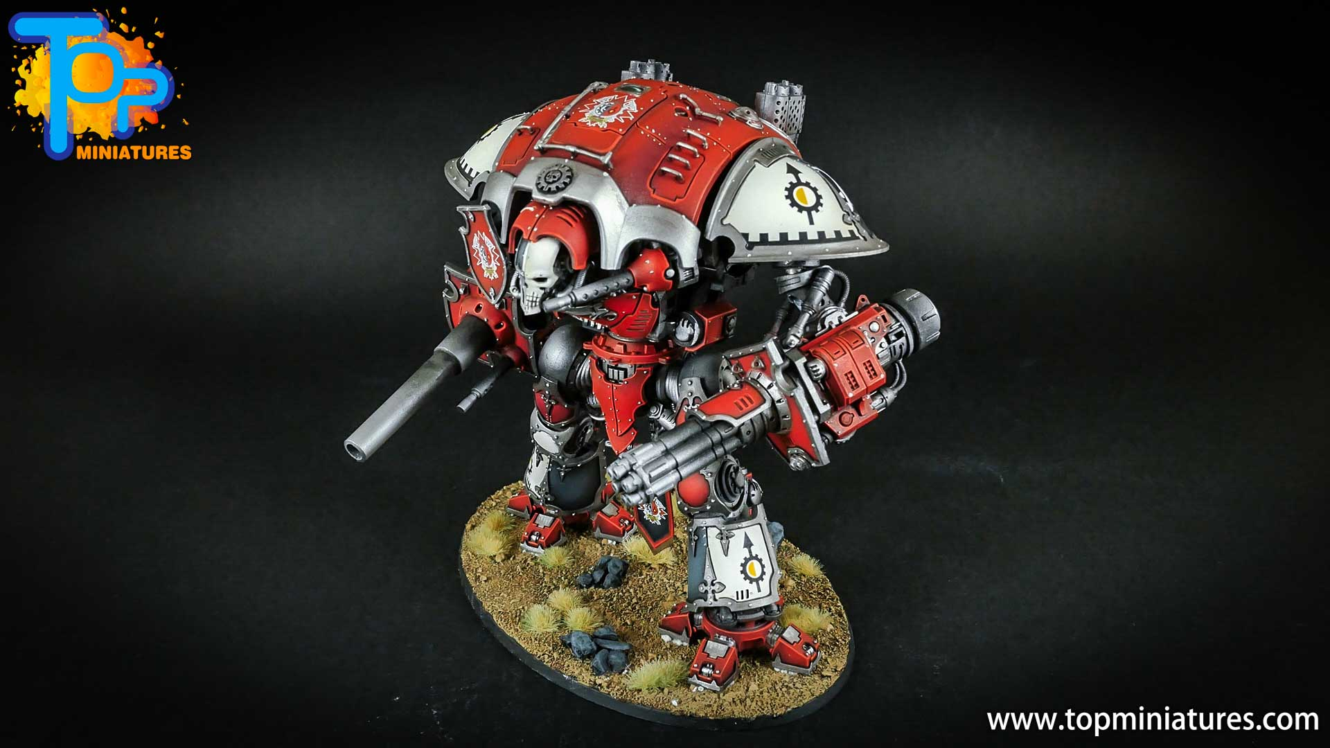 warhammer 40k painted imperial knight (10)