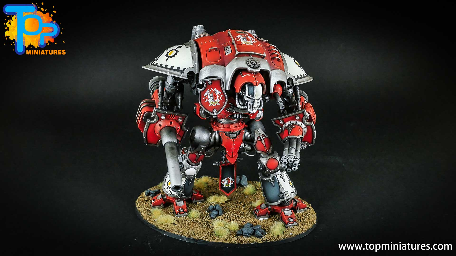 warhammer 40k painted imperial knight (11)