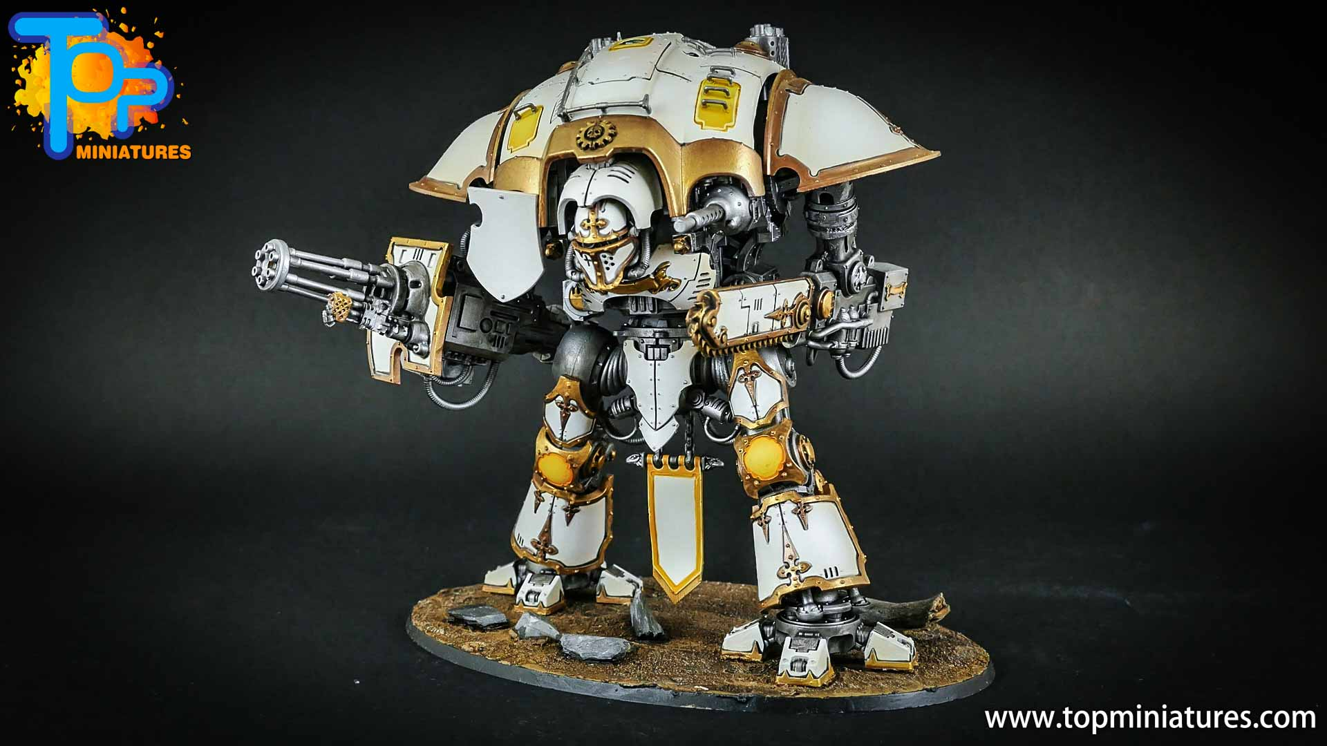 warhammer 40k painted imperial knight (4)