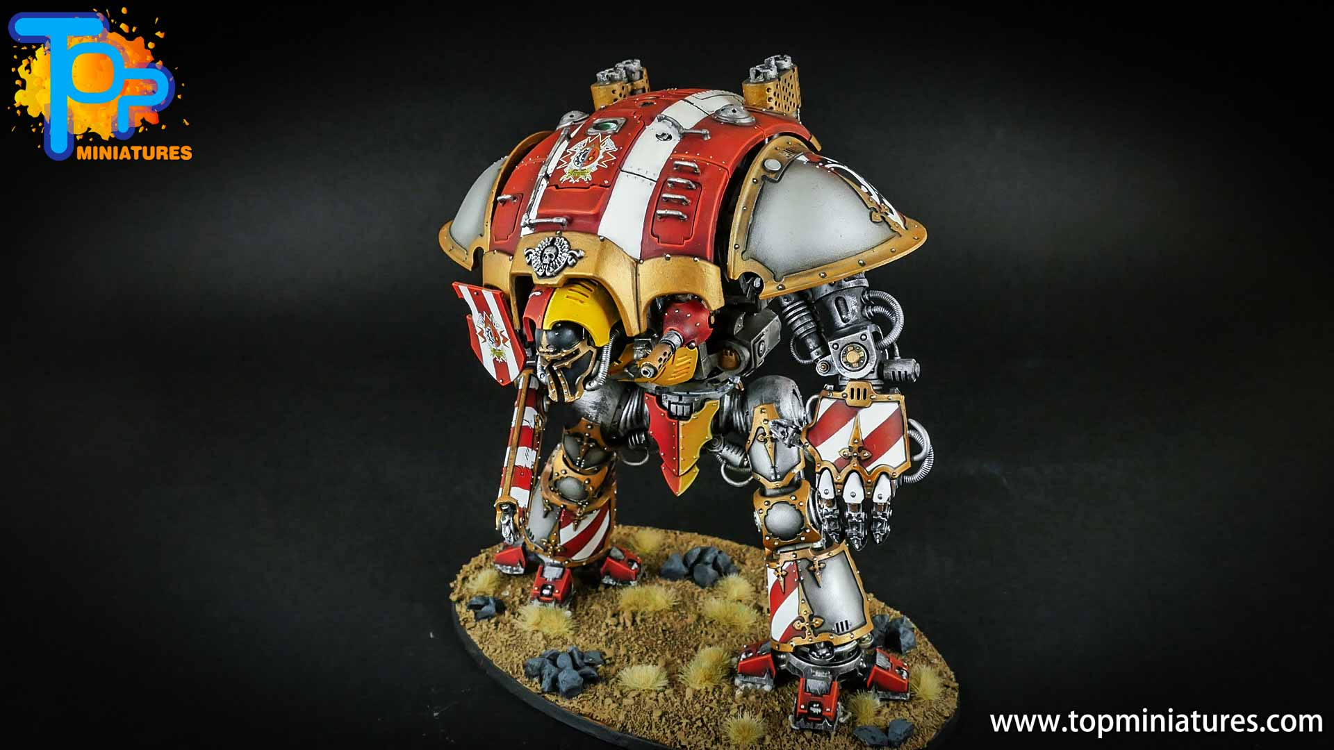warhammer 40k painted imperial knight (7)