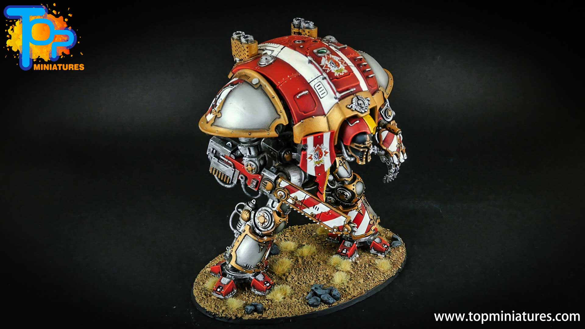 warhammer 40k painted imperial knight (8)