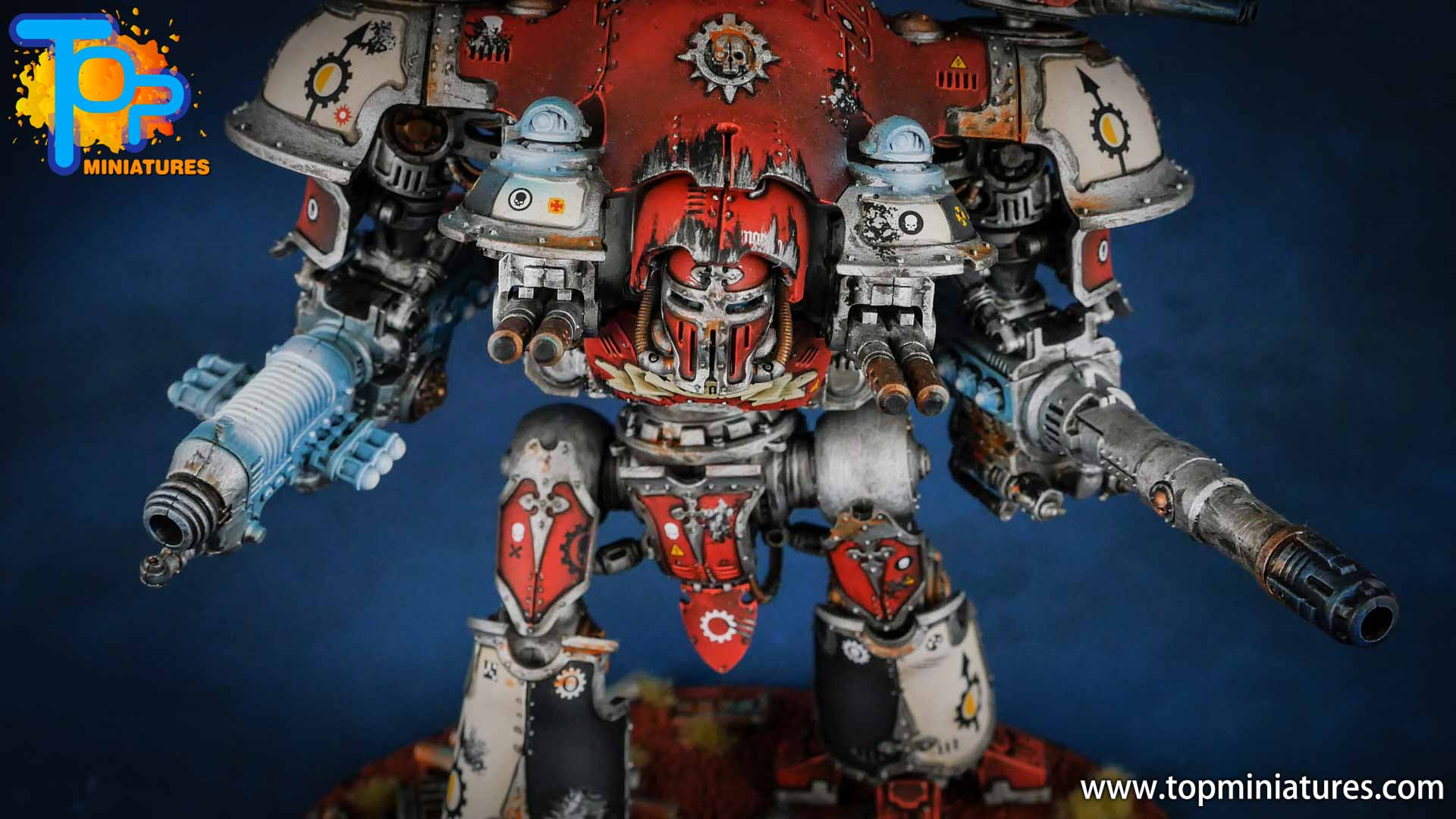 warhammer 40k painted knight castellan (2)