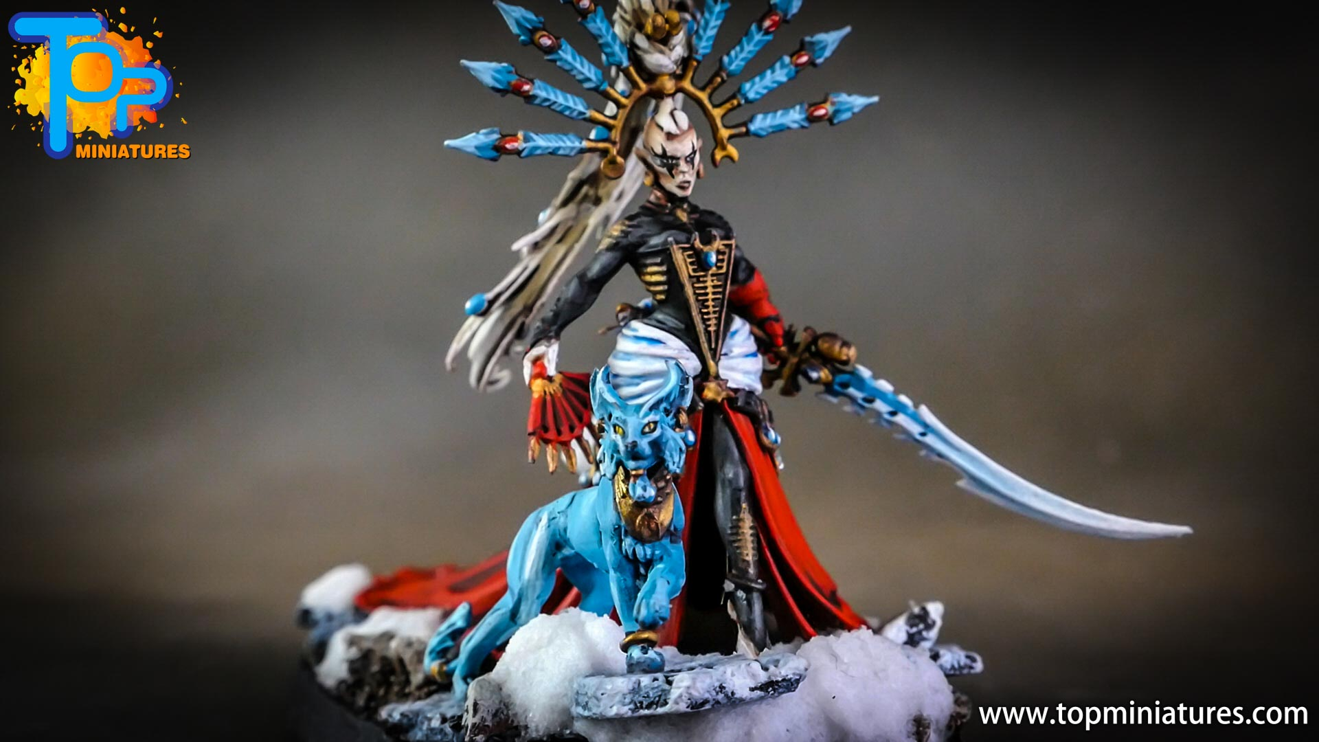 warhammer 40k painted yvraine (4)