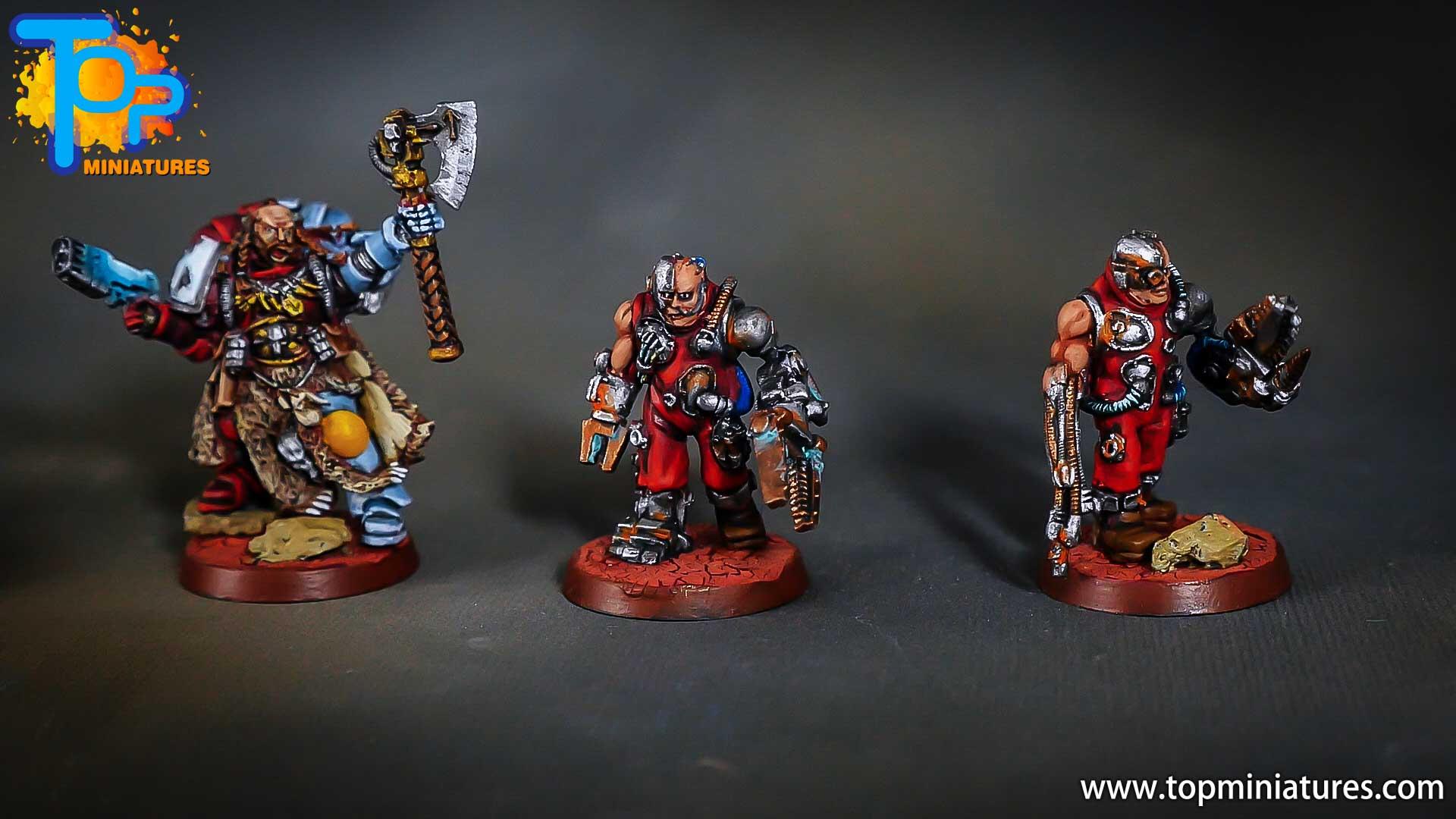 warhammer adeptus mechanicus servitors