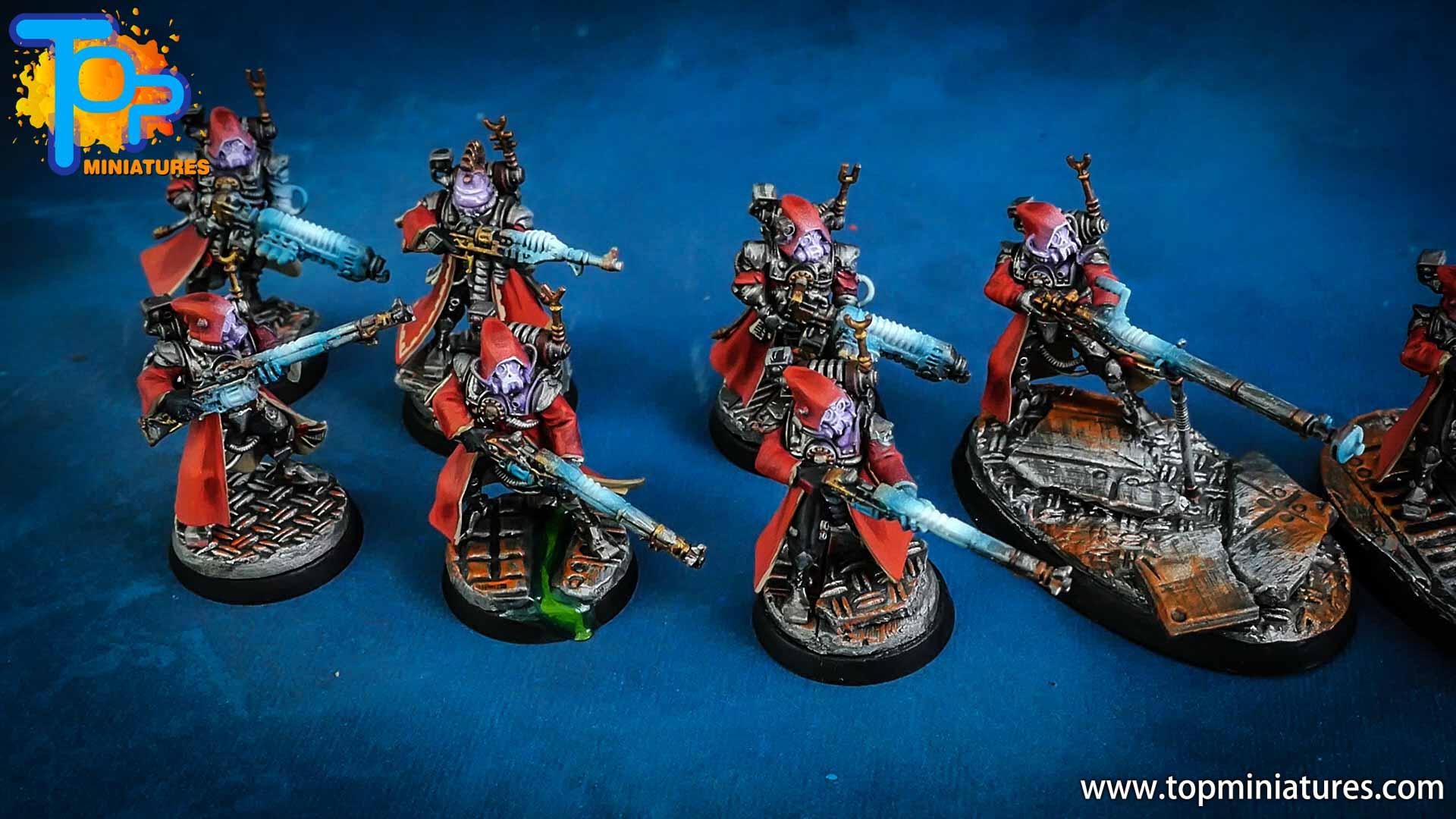 warhammer adeptus mechanicus skitarii rangers (5)
