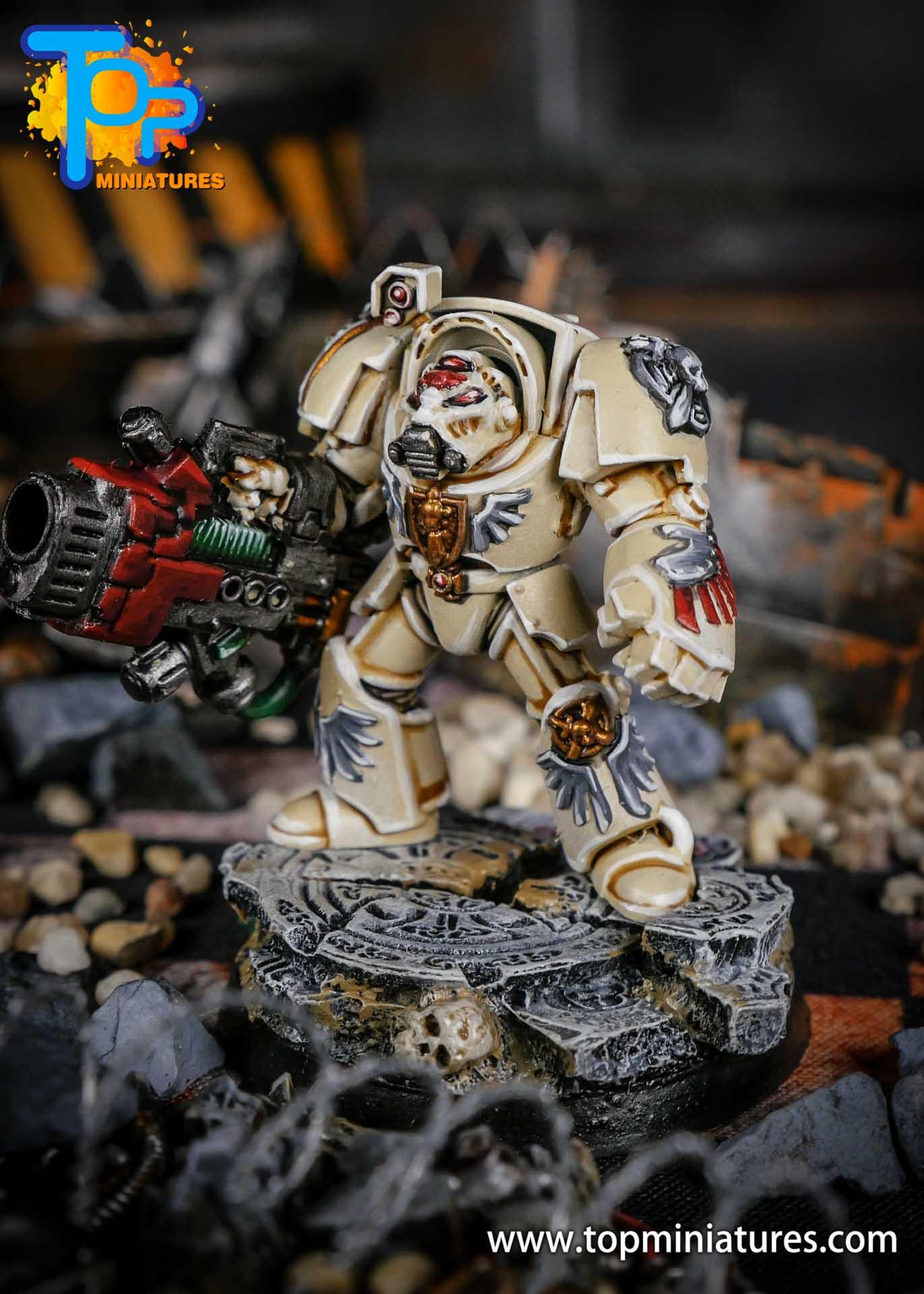 Dark Angels Deathwing Terminator Plasma Cannon (2)