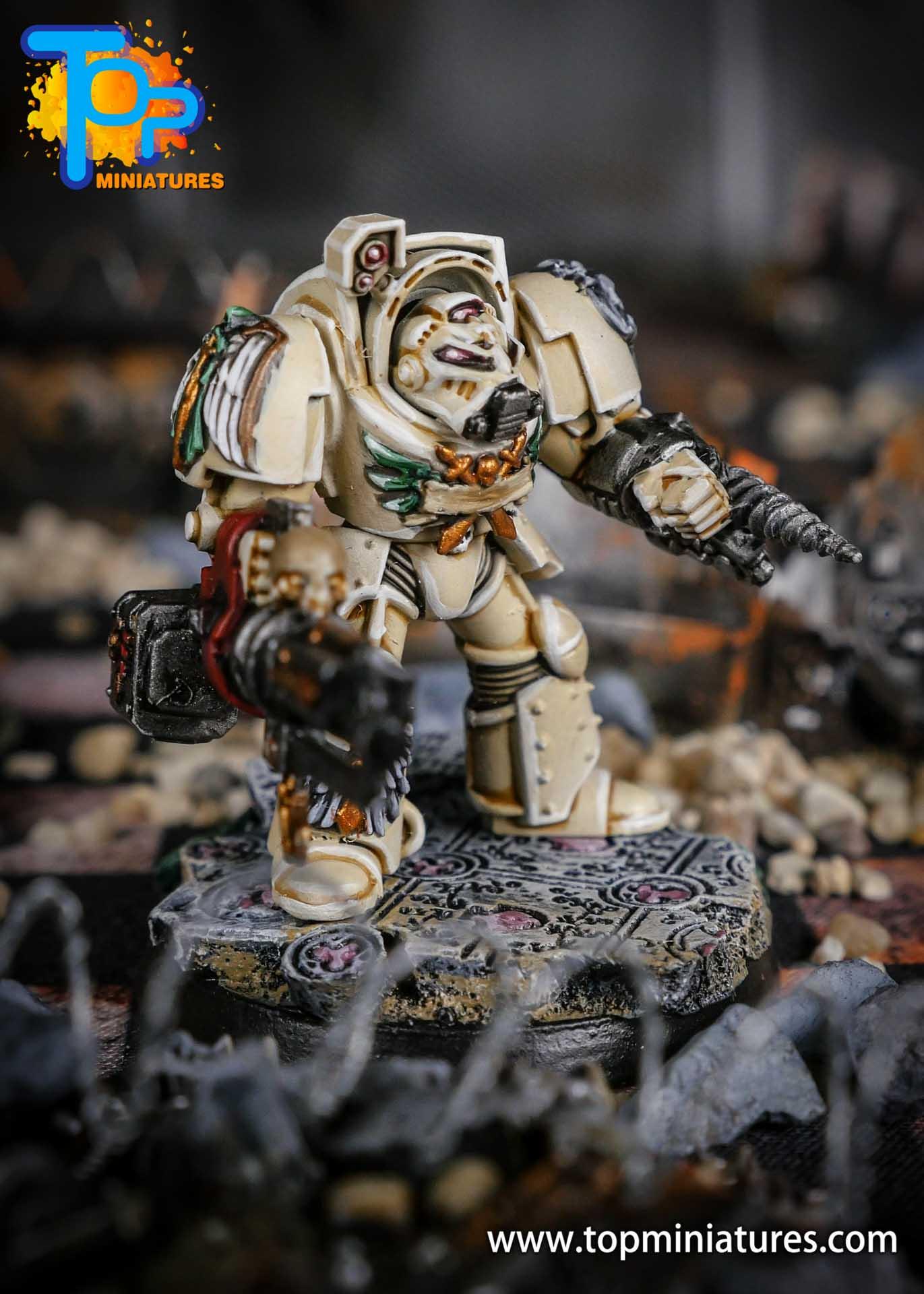 Dark Angels Deathwing terminator Assault Cannon (2)