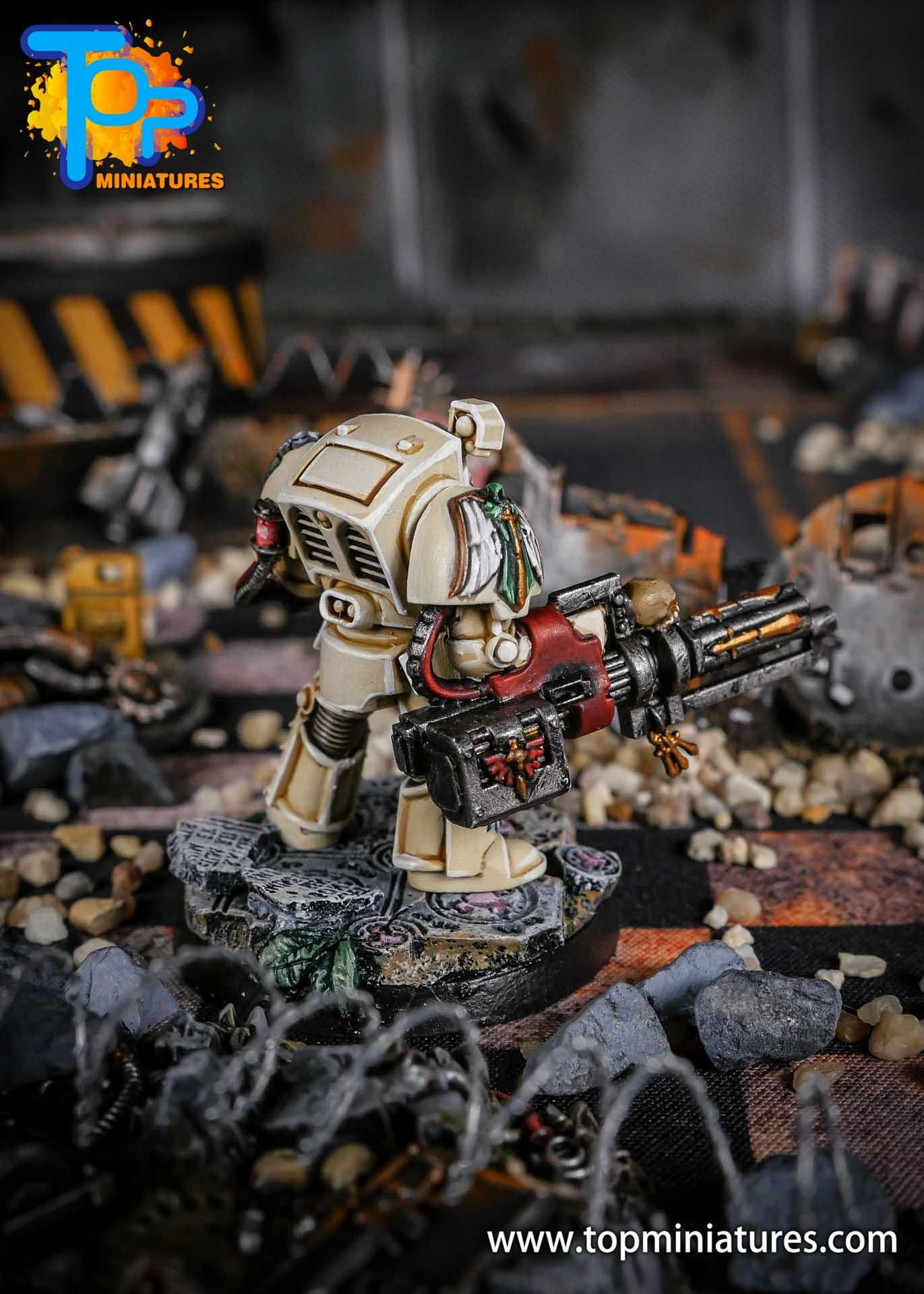 Dark Angels Deathwing terminator Assault Cannon (3)