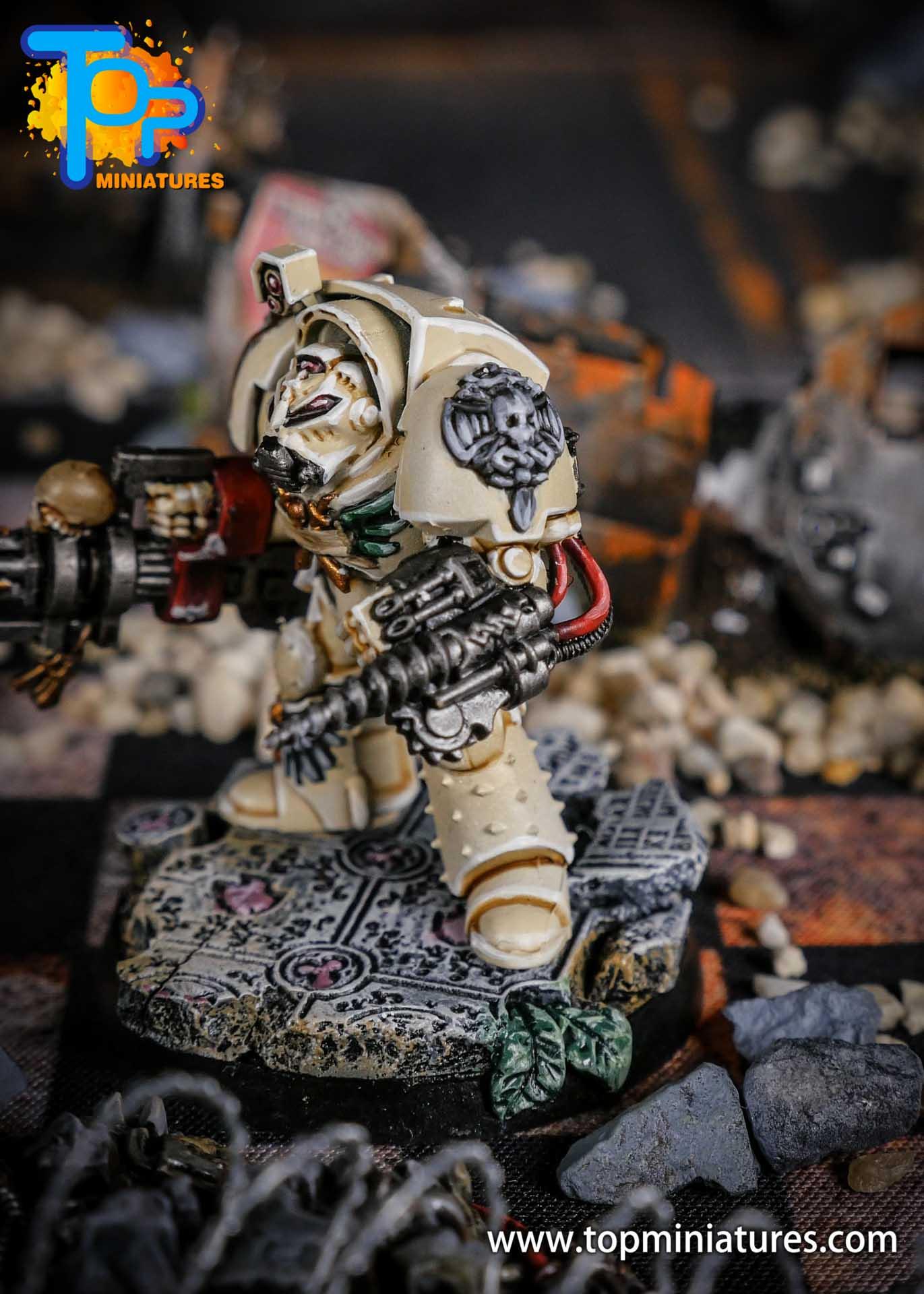 Dark Angels Deathwing terminator Assault Cannon (5)