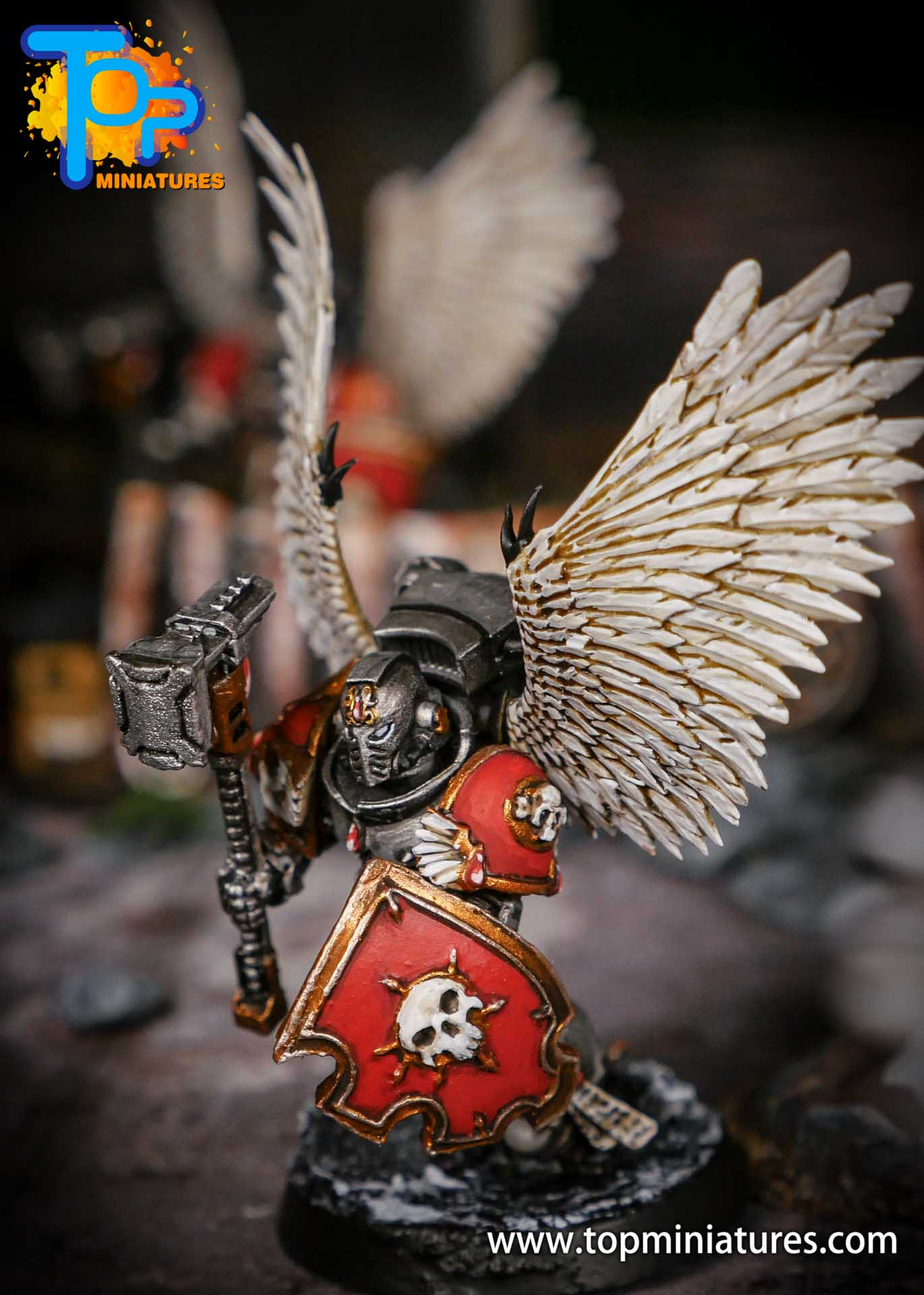 Blood Angels Sanguinary Guard conversion