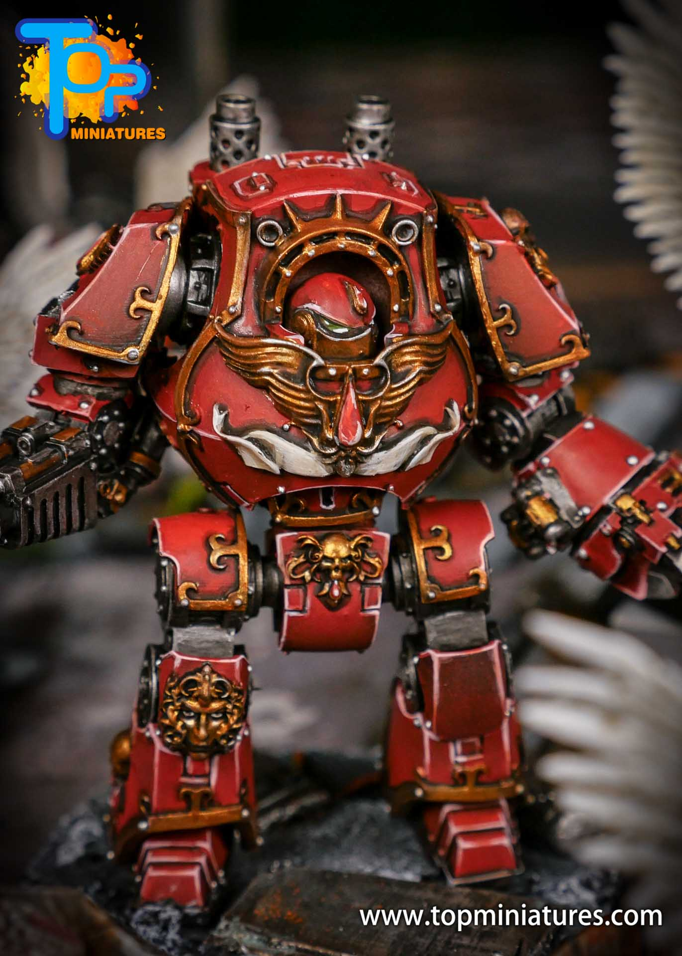 Blood Angels contemptor Relic Dreadnought (1)