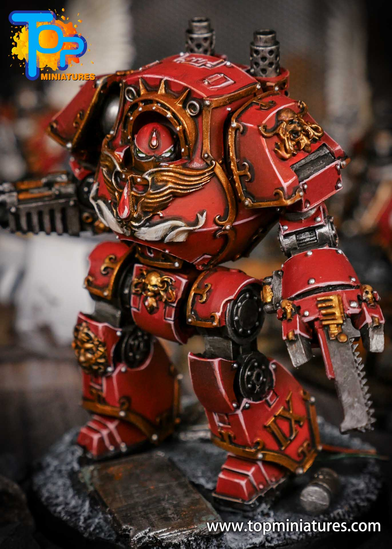 Blood Angels contemptor Relic Dreadnought (2)