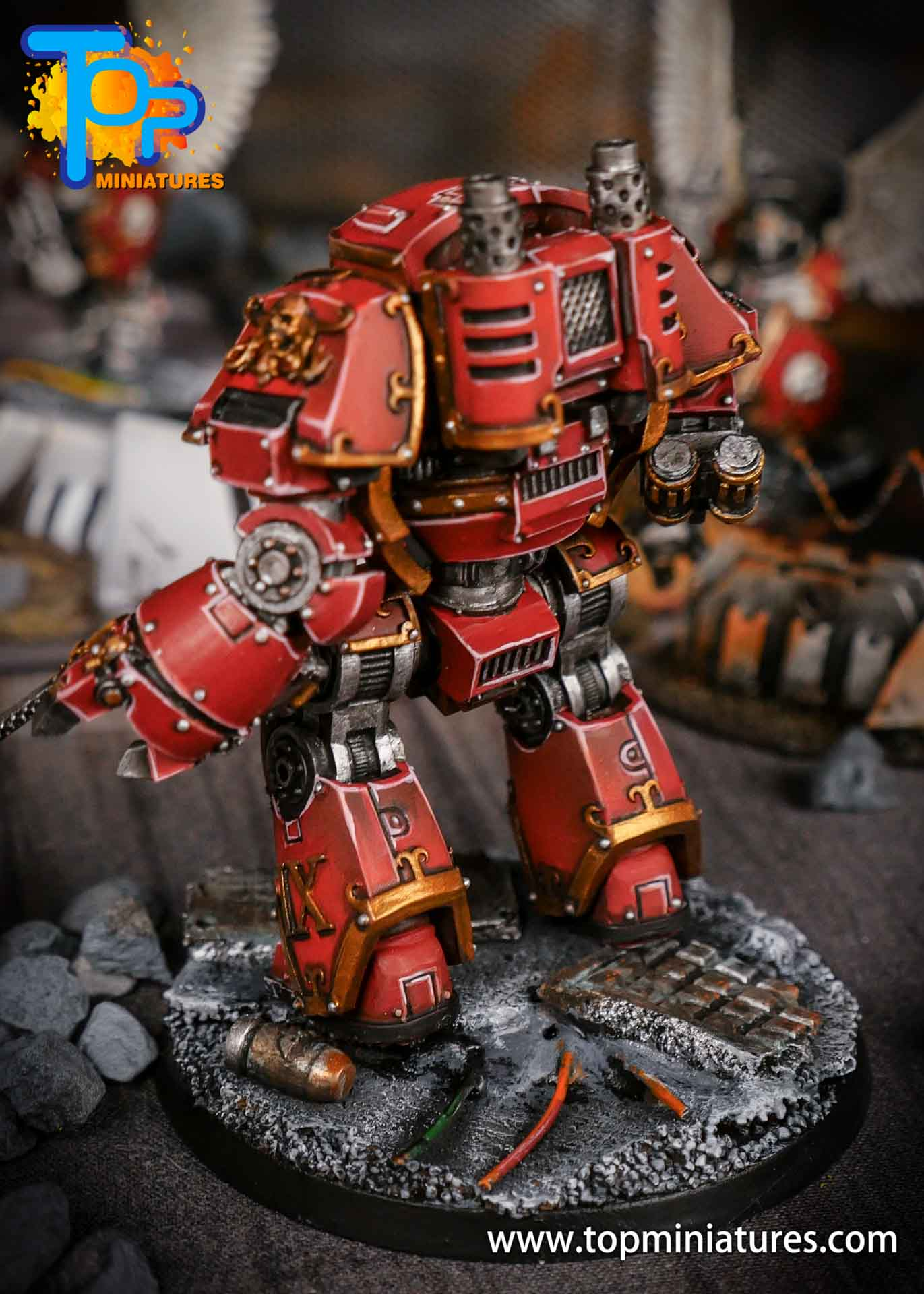 Blood Angels contemptor Relic Dreadnought (3)