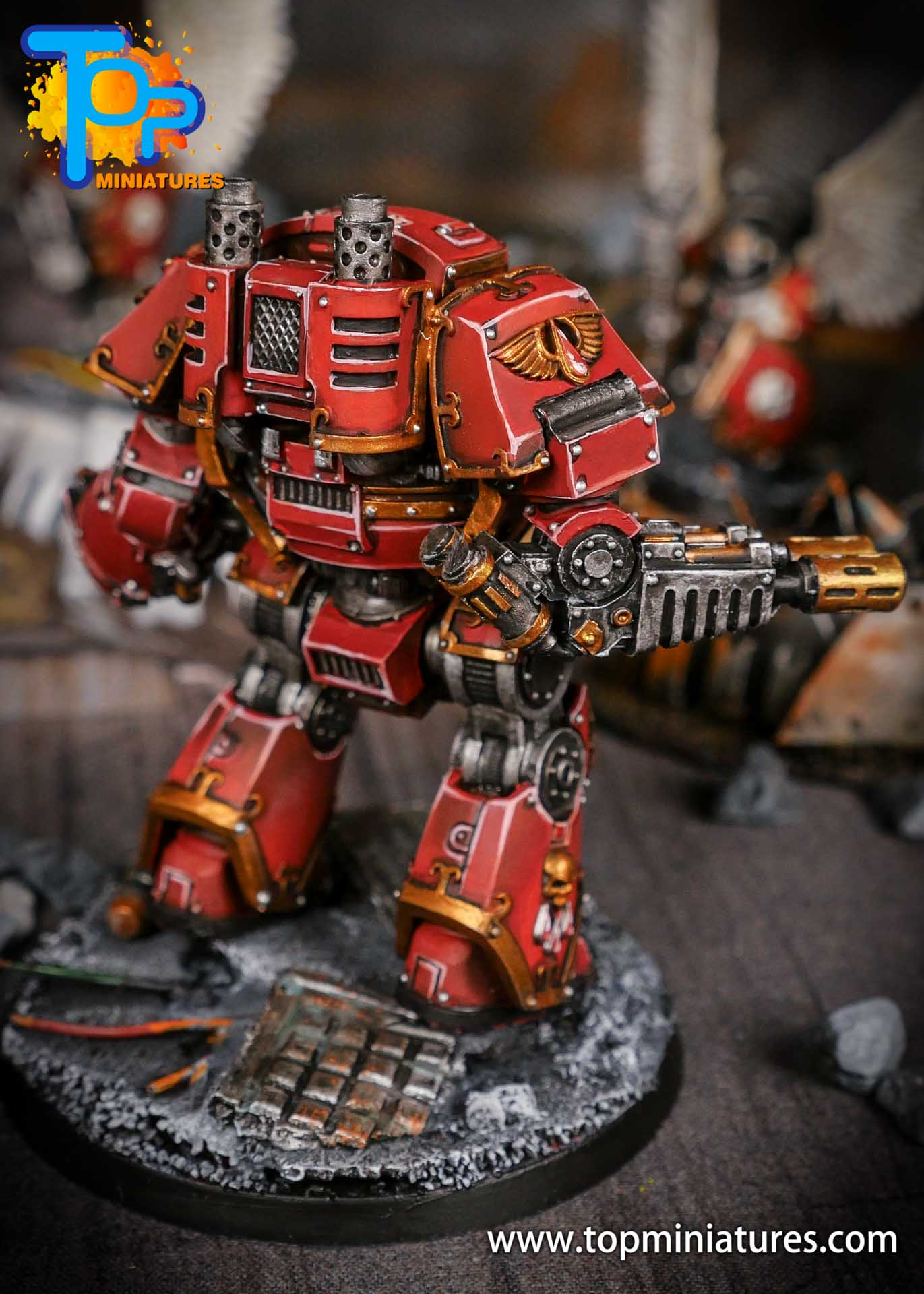 Blood Angels contemptor Relic Dreadnought (4)
