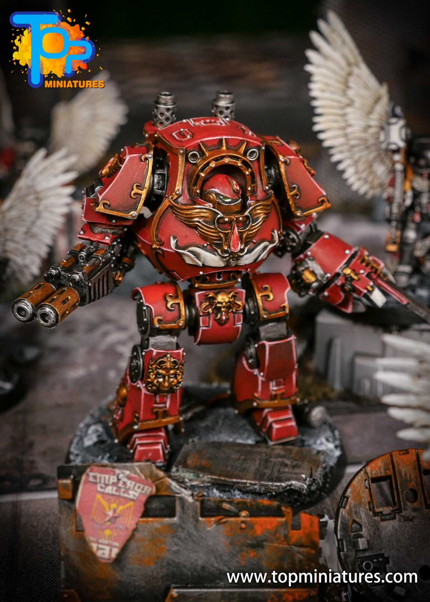 Blood Angels contemptor Relic Dreadnought (5)