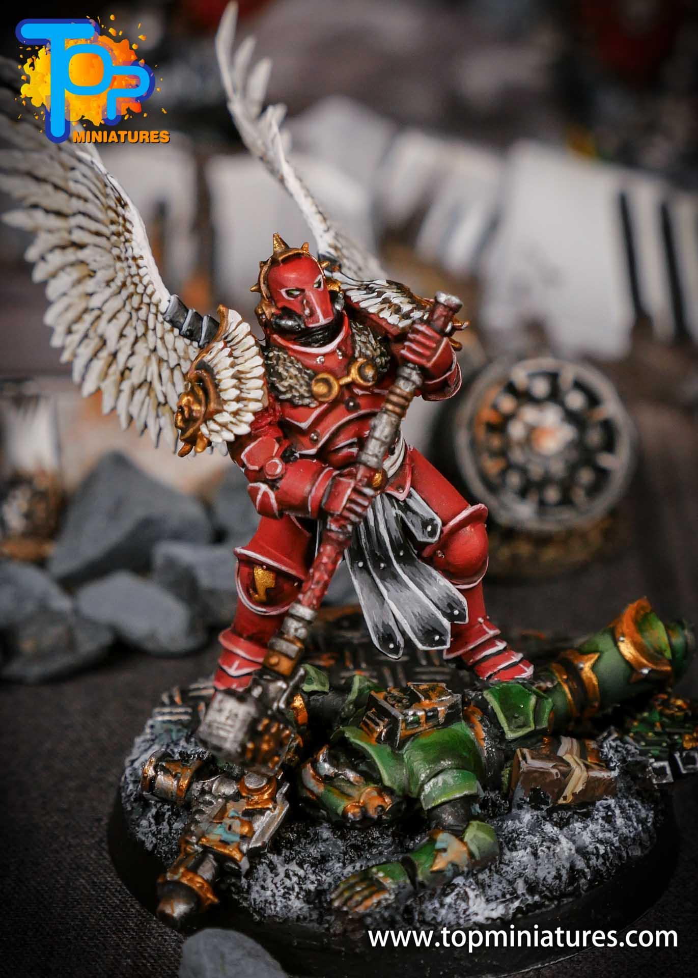 Blood Angels converted Smash Captain (2)