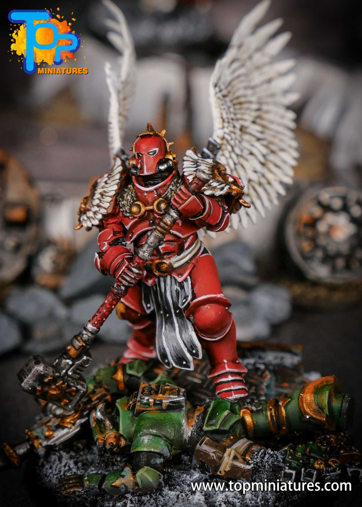 Blood Angels converted Smash Captain (4)