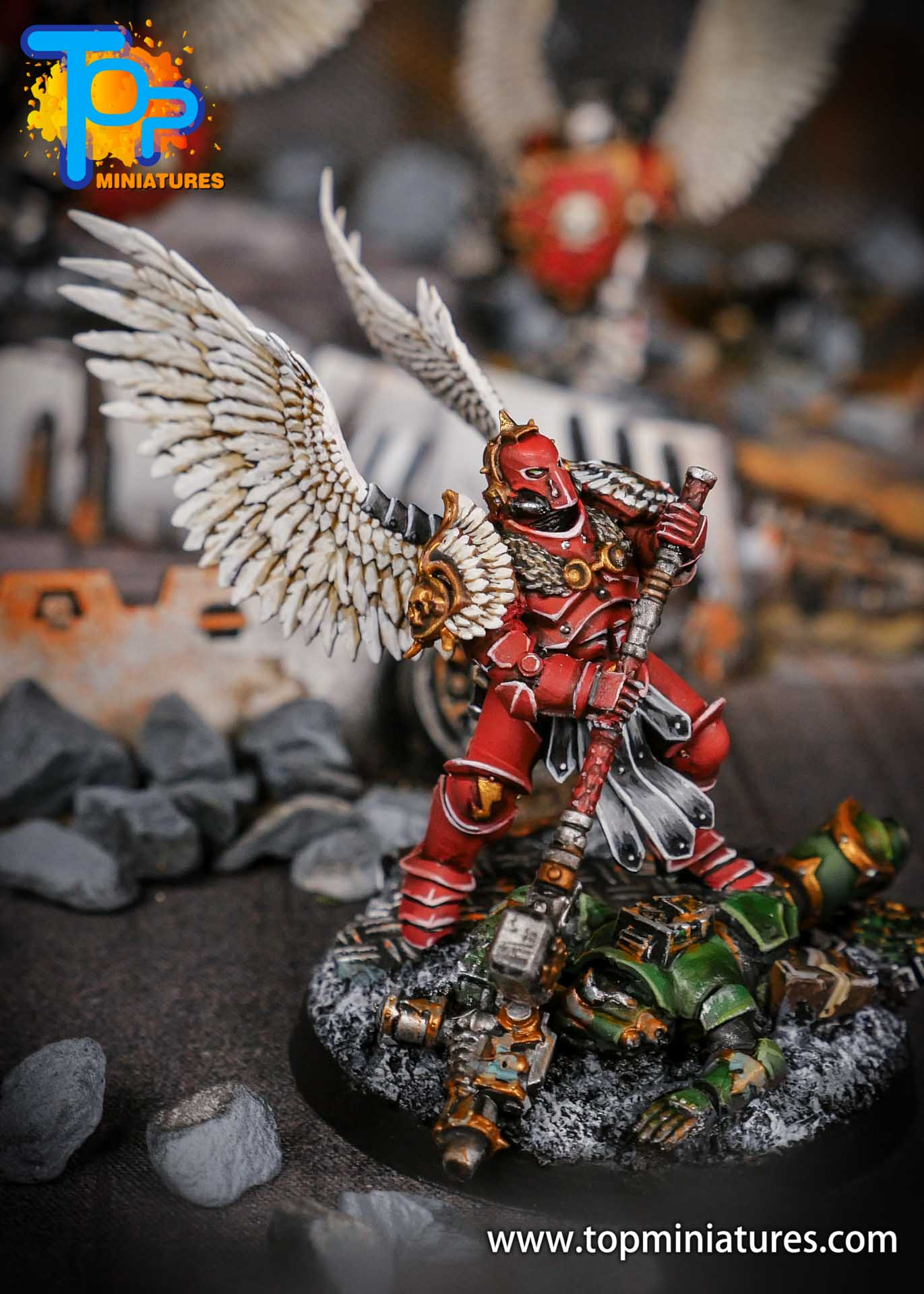 Blood Angels converted Smash Captain (5)