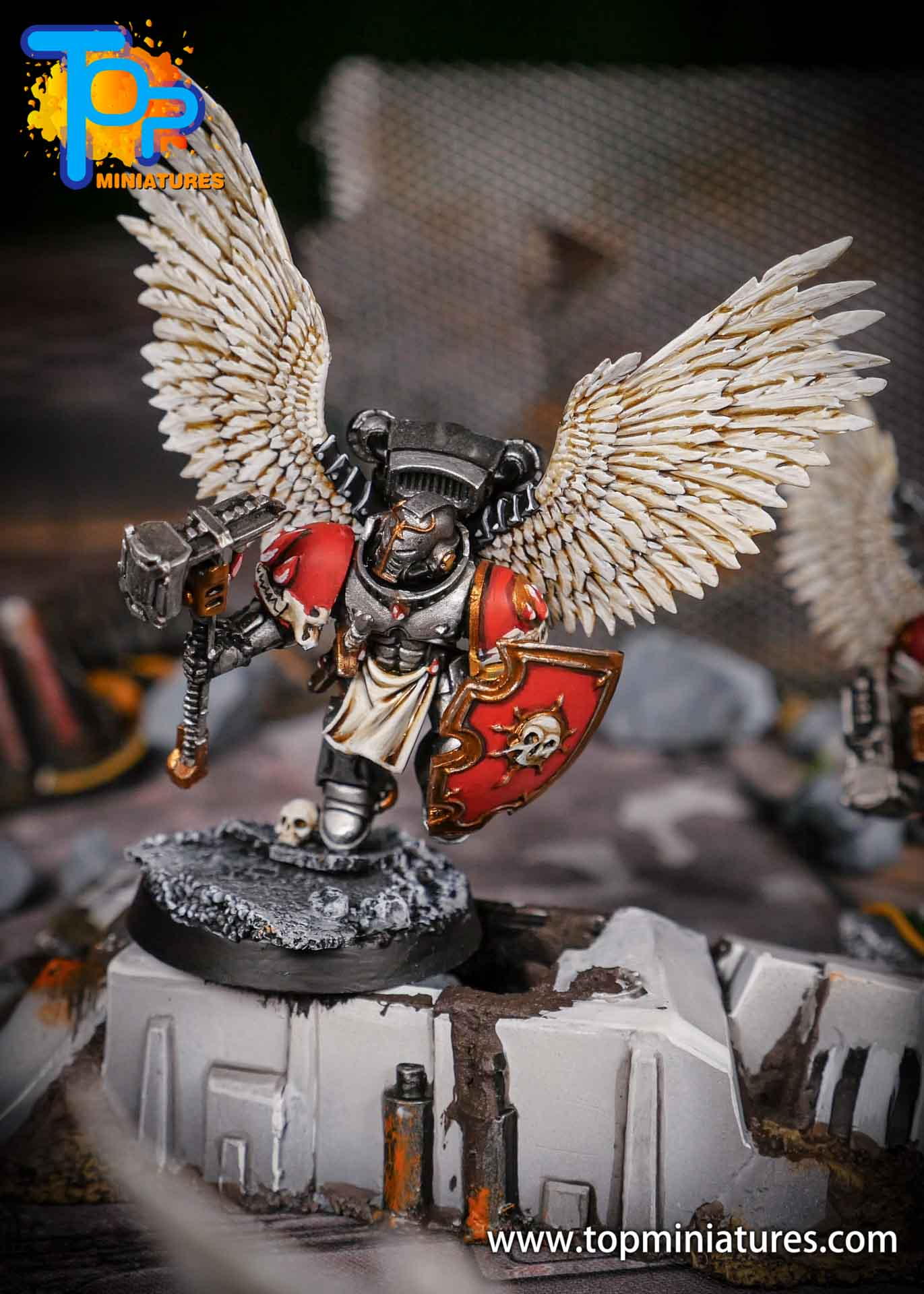 Blood Angels converted Vanguard Veterans (2)