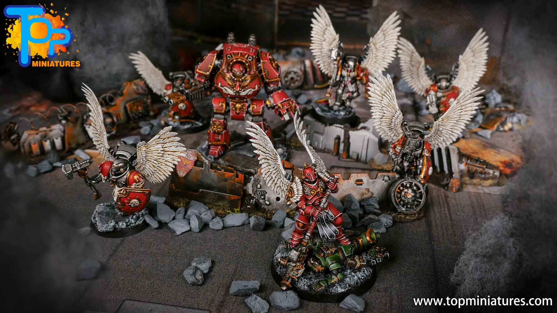 Blood Angels painted army