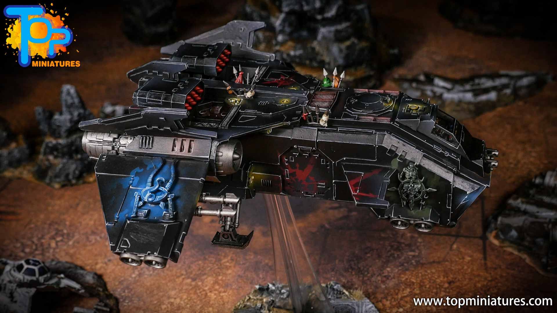 Converted Warhammer 40k Chaos Storm Eagle (1)