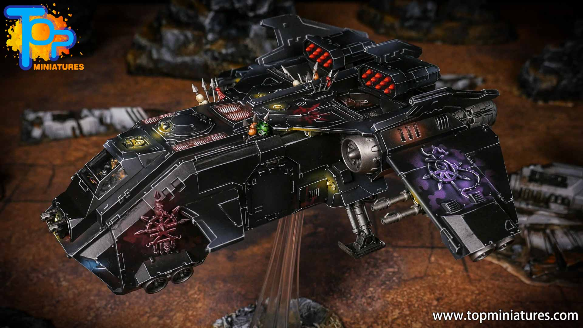 Converted Warhammer 40k Chaos Storm Eagle (2)