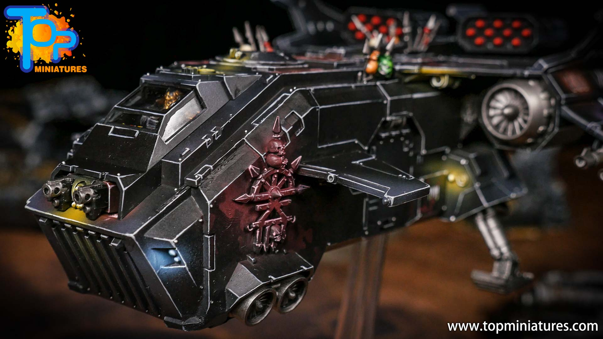 Converted Warhammer 40k Chaos Storm Eagle (3)