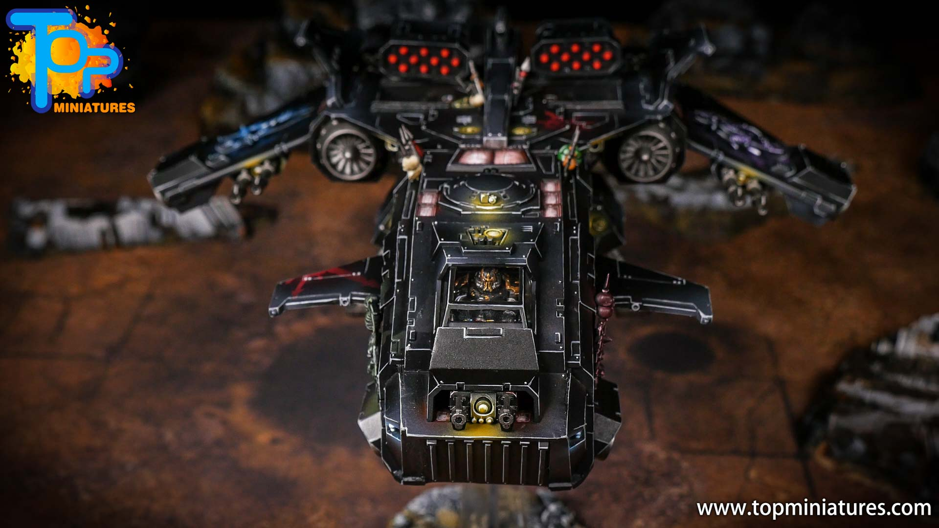 Converted Warhammer 40k Chaos Storm Eagle (5)