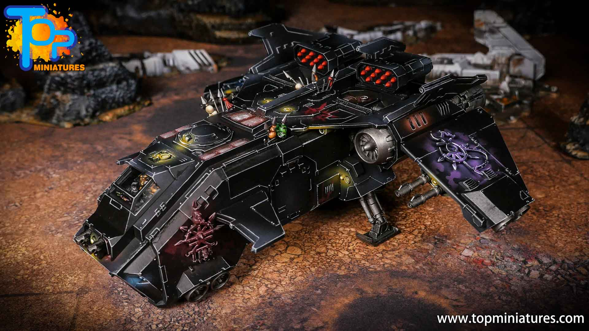 Converted Warhammer 40k Chaos Storm Eagle (9)