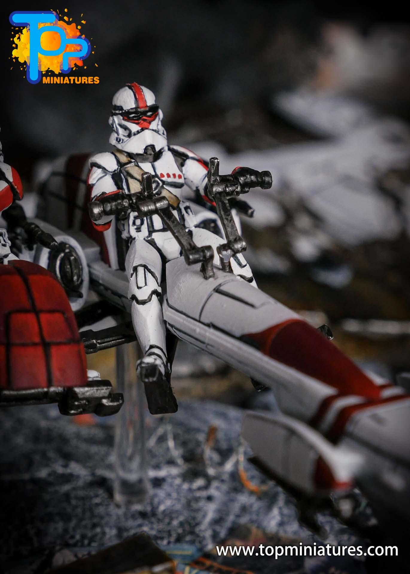 Star Wars Legion BARC Speeder (3)