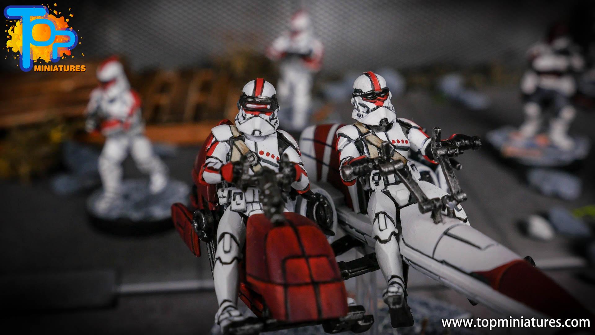 Star Wars Legion BARC Speeder (6)