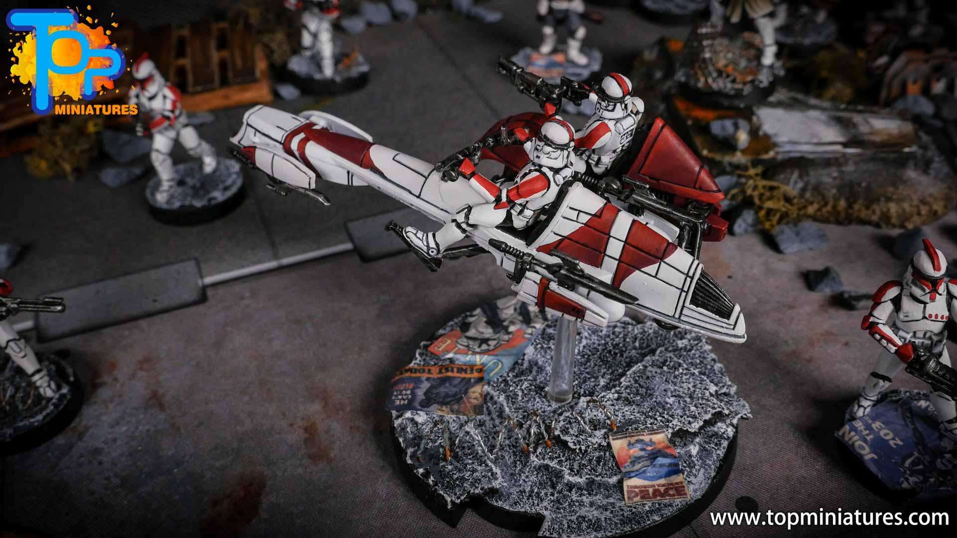Star Wars Legion BARC Speeder (8)