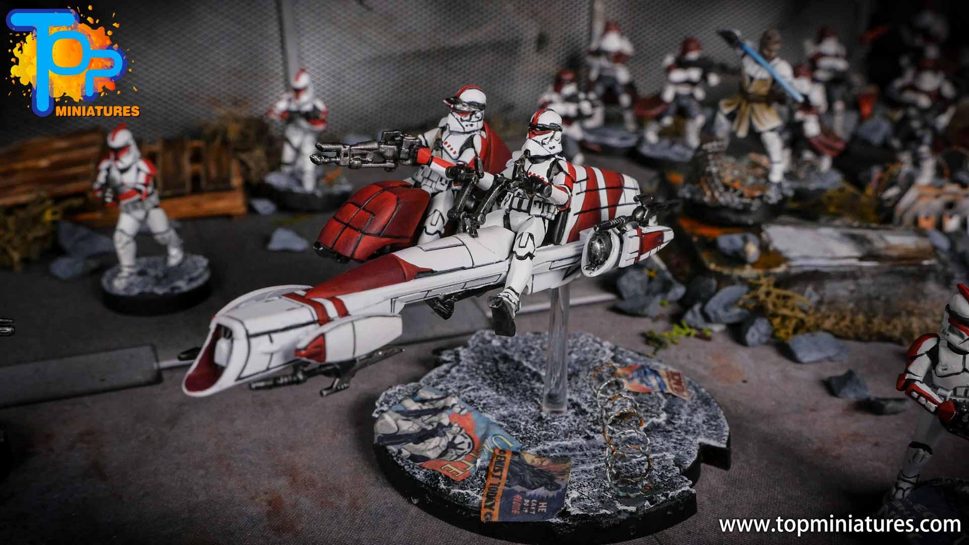 Star Wars Legion BARC Speeder (9)
