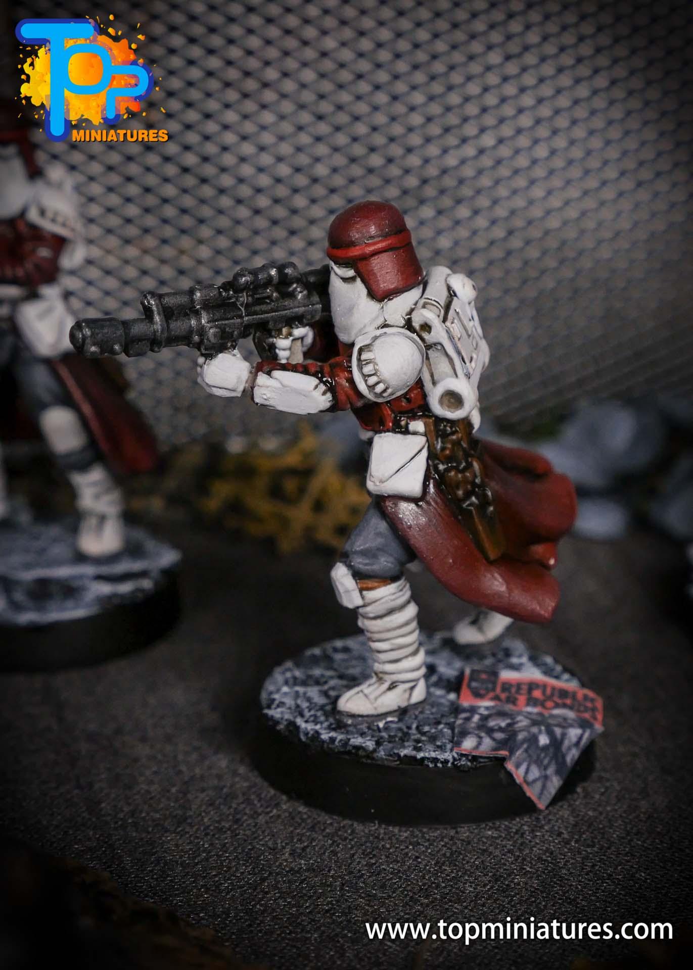 Star Wars Legion painted Snowtroopers (10)