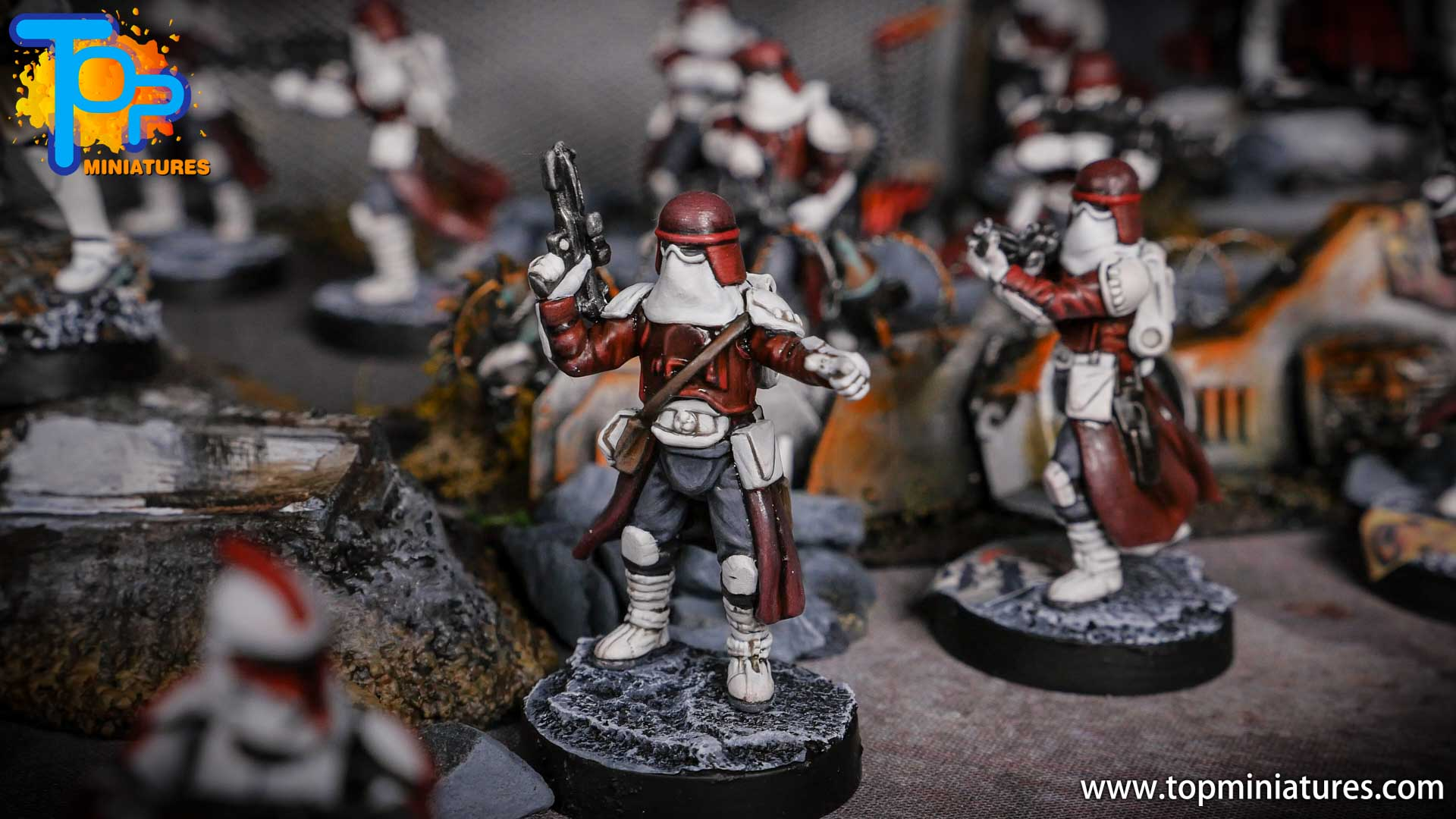 Star Wars Legion painted army (1)