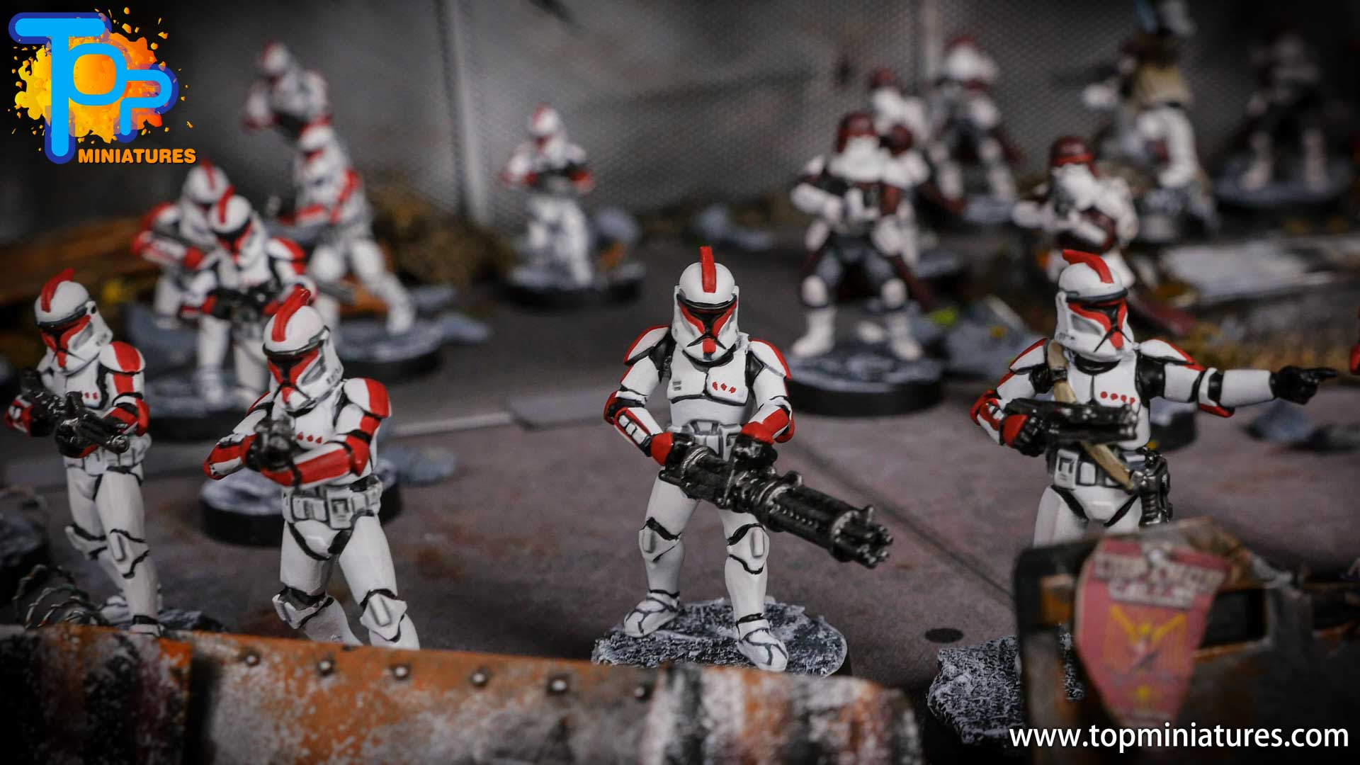 Star Wars Legion painted army (3)