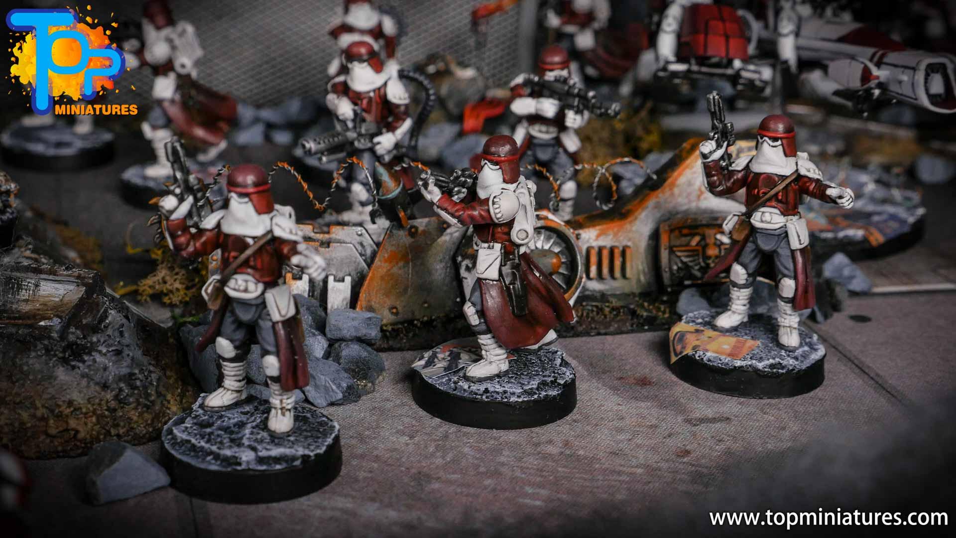 Star Wars Legion painted army (6)