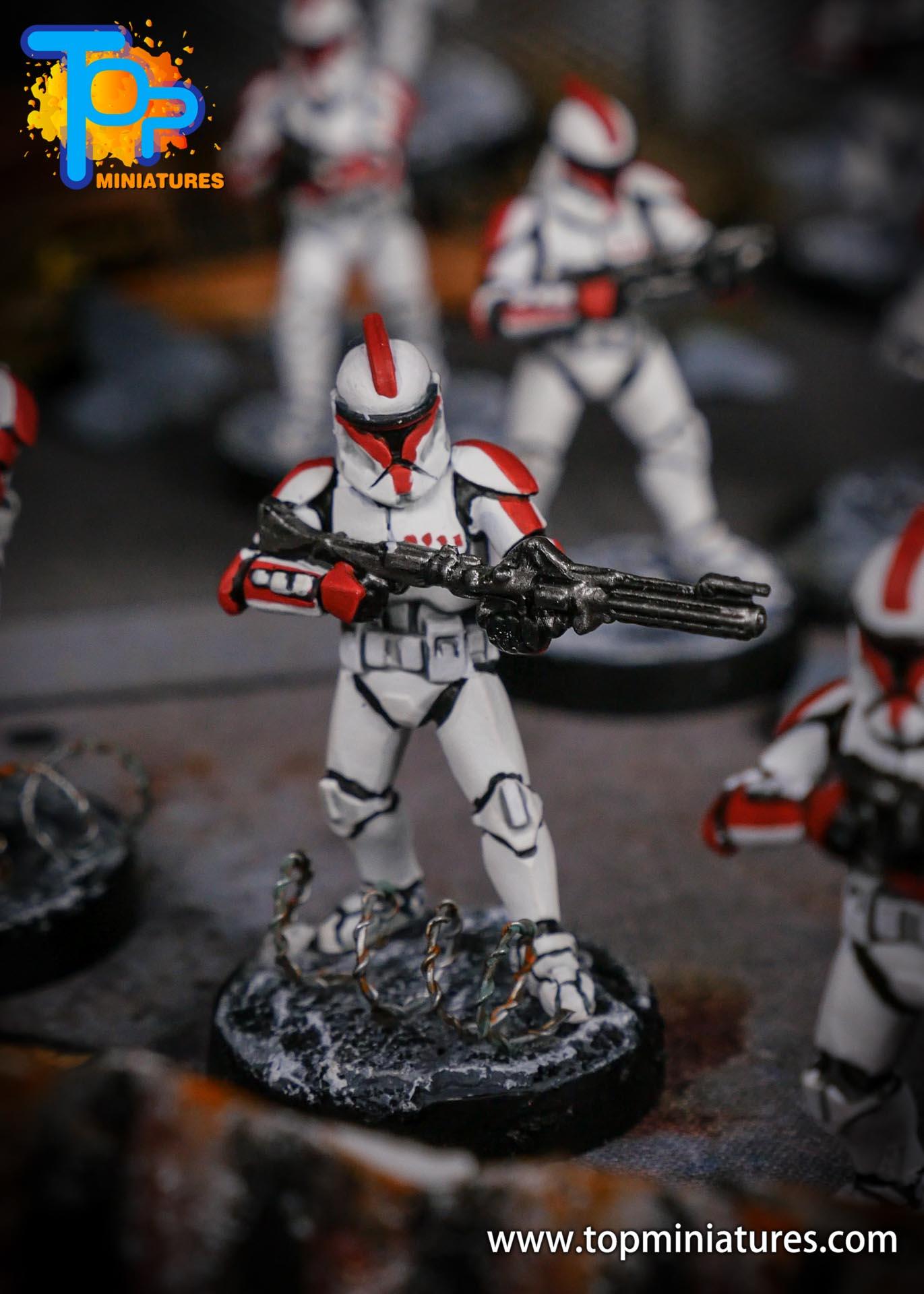 Star Wars Legion phase Clone Troopers (2)