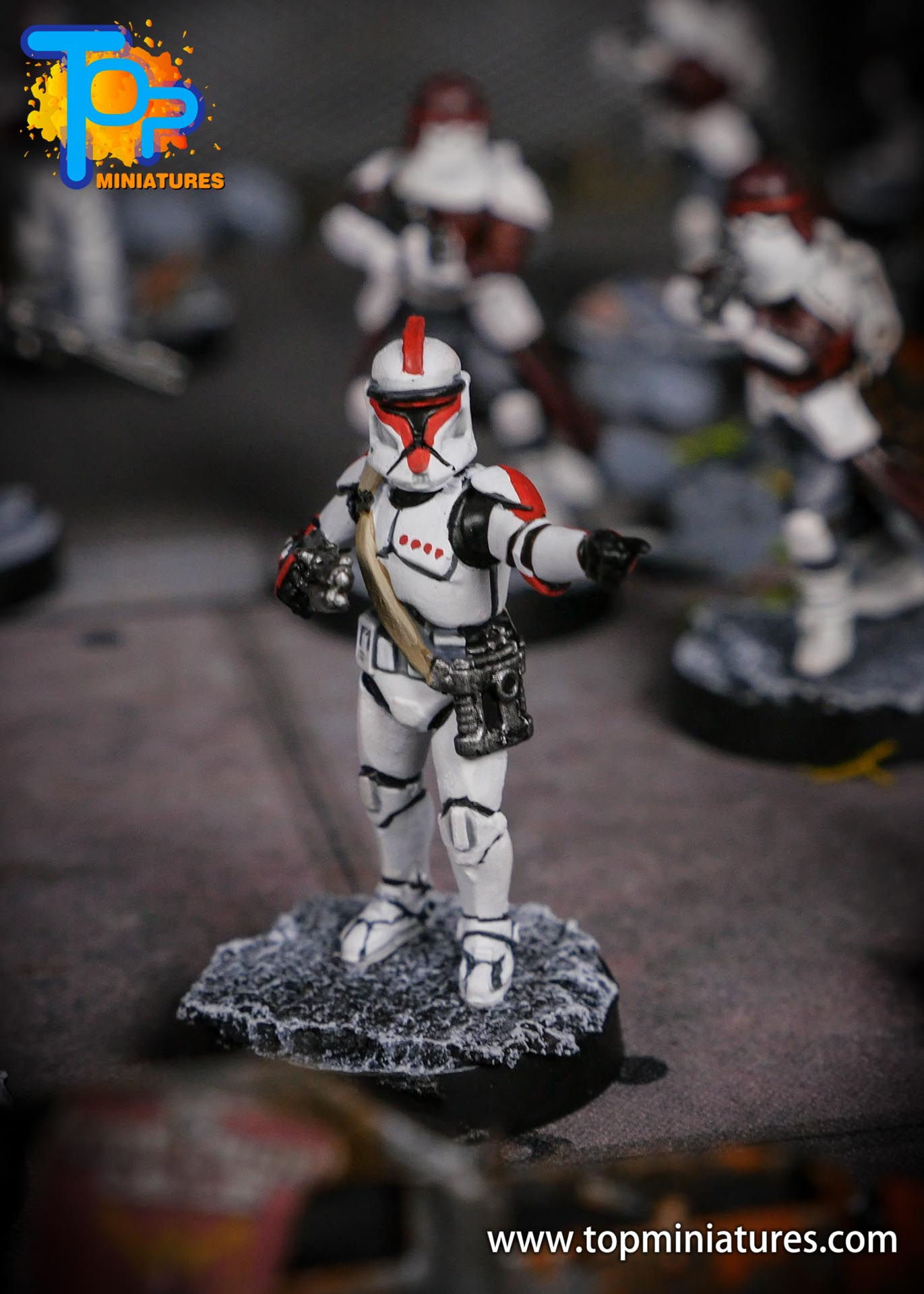 Star Wars Legion phase Clone Troopers (5)