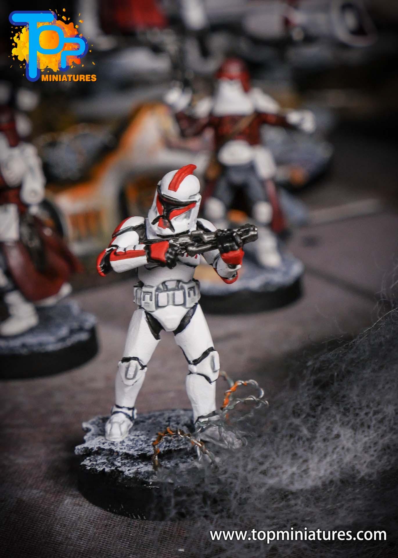 Star Wars Legion phase Clone Troopers (7)