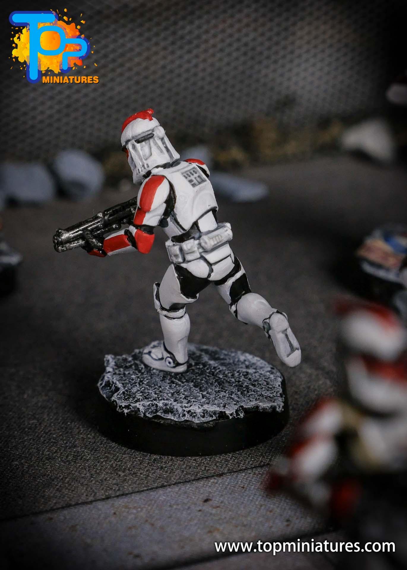 Star Wars Legion phase Clone Troopers (9)