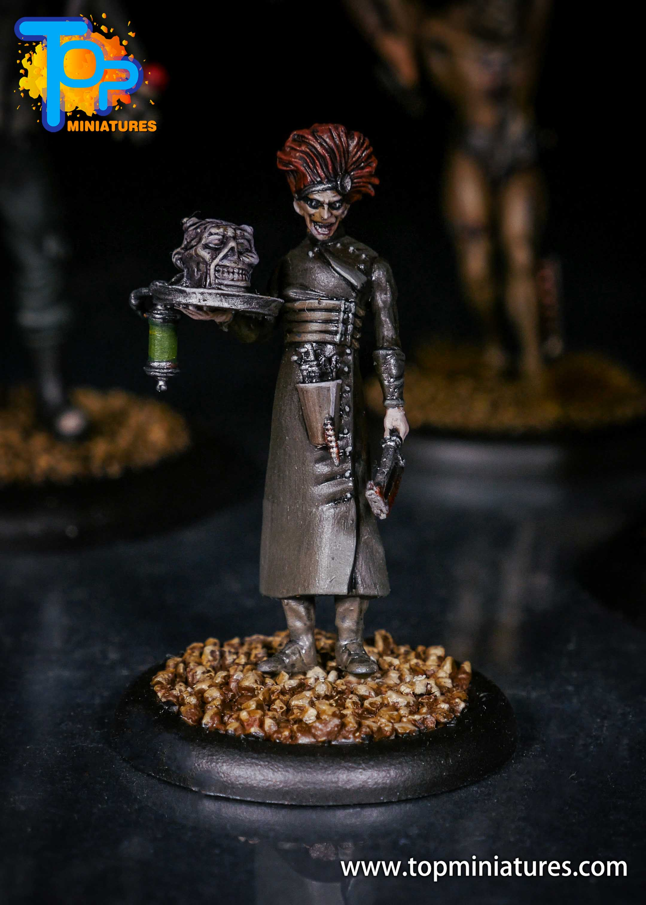 Malifaux Body of Evidence Dr. McMourning