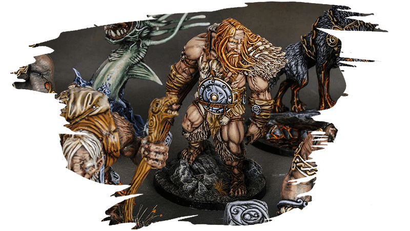 blood rage mountain giant monster by top miniatures